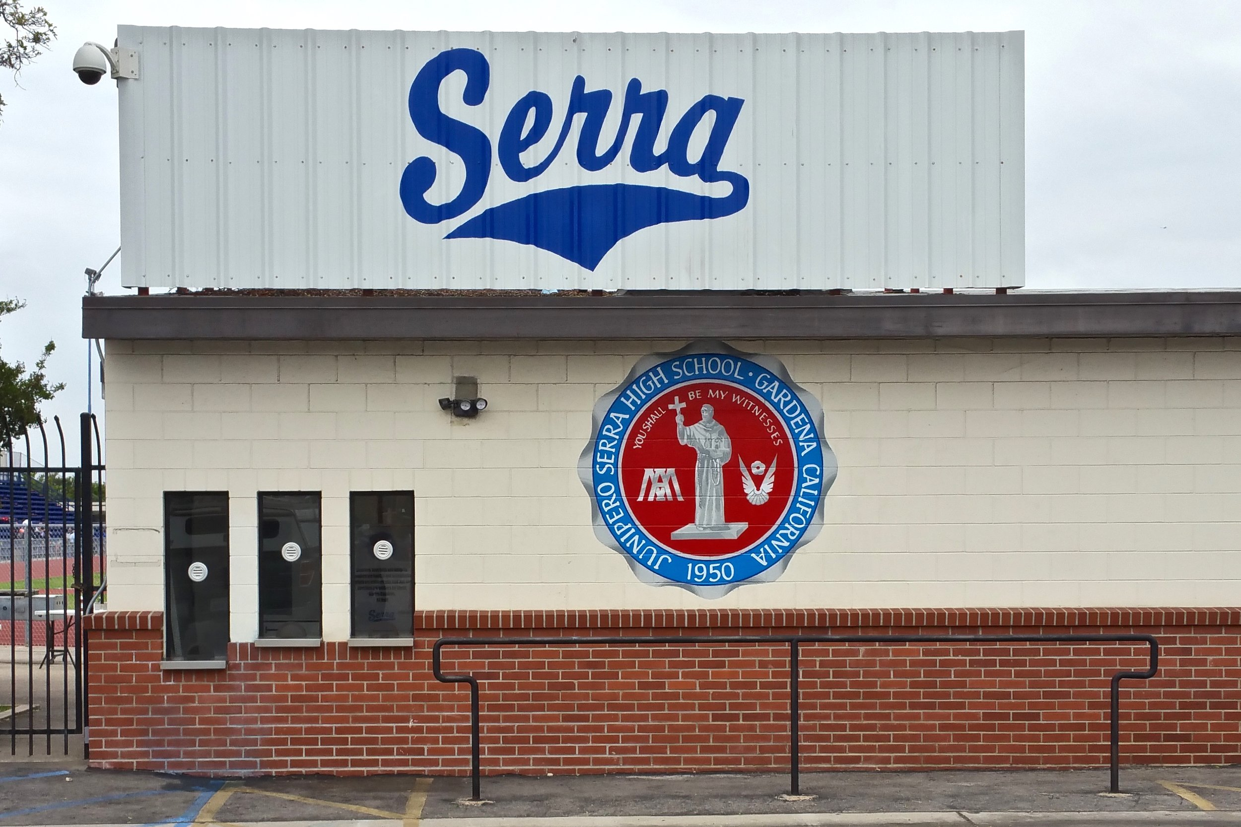 SERRA TICKETBOOTH PAINTED GRAPHICS