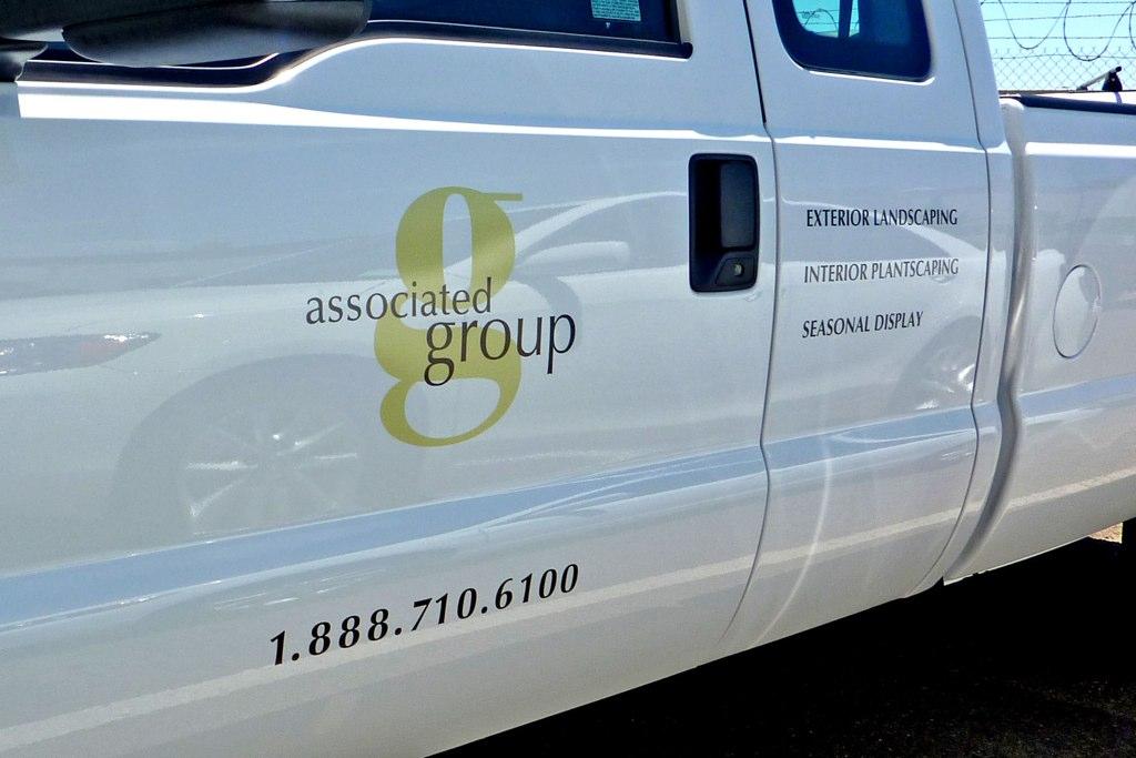 Custom printed and cut vinyl vehicle graphics