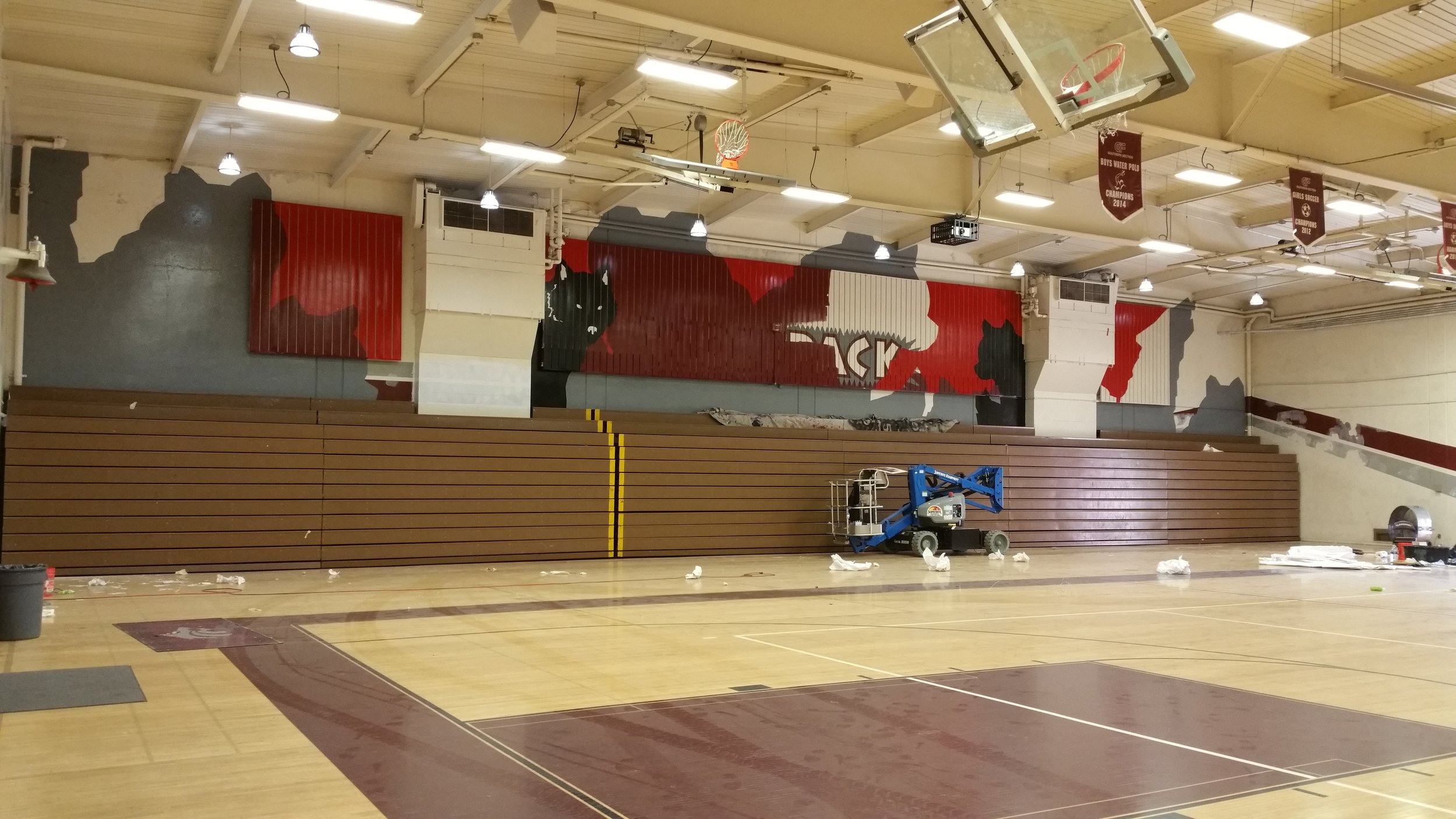 CLAREMONT HS - SIDE PROGRESS