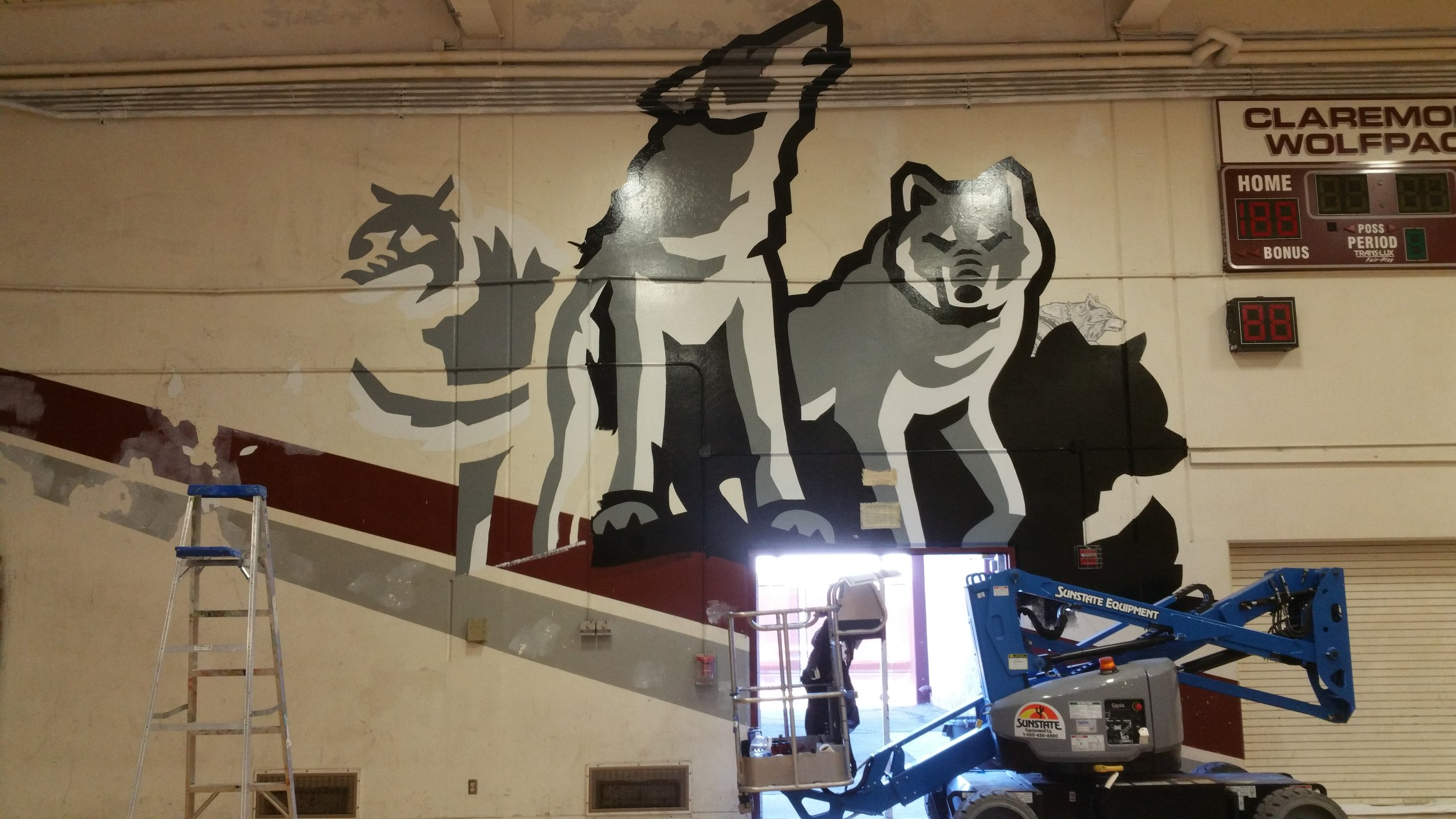 CLAREMONT HS - WOLF HILL PROGRESS