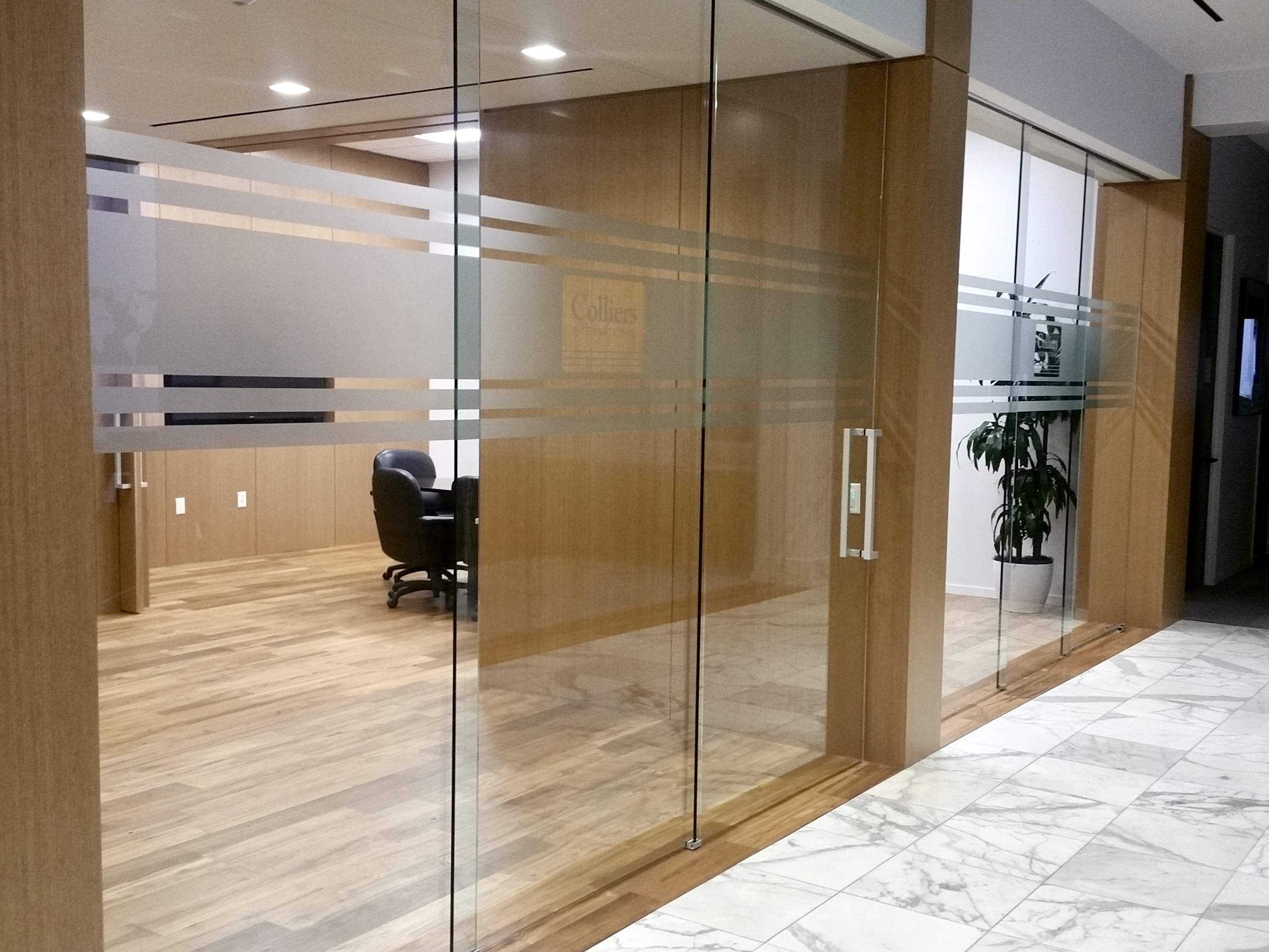 ETCH-LOOK PRIVACY & SAFETY OFFICE VINYL