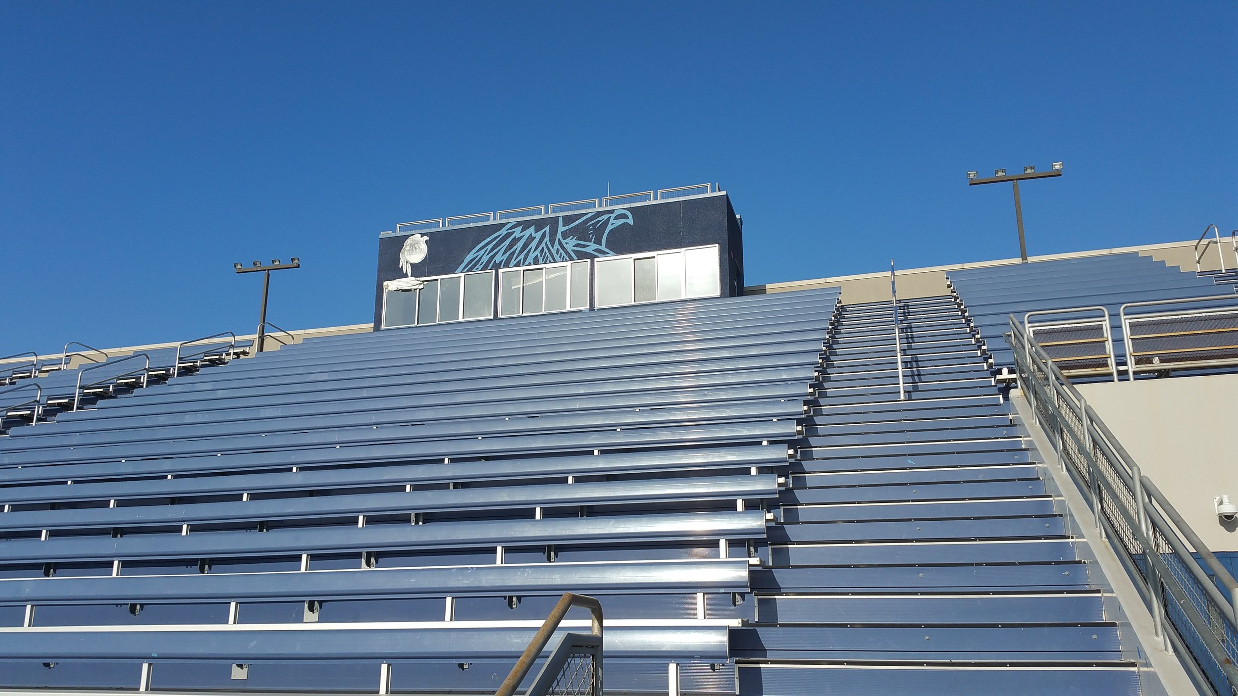 GABRIELINO STADIUM PRESS BOOTH GRAPHICS
