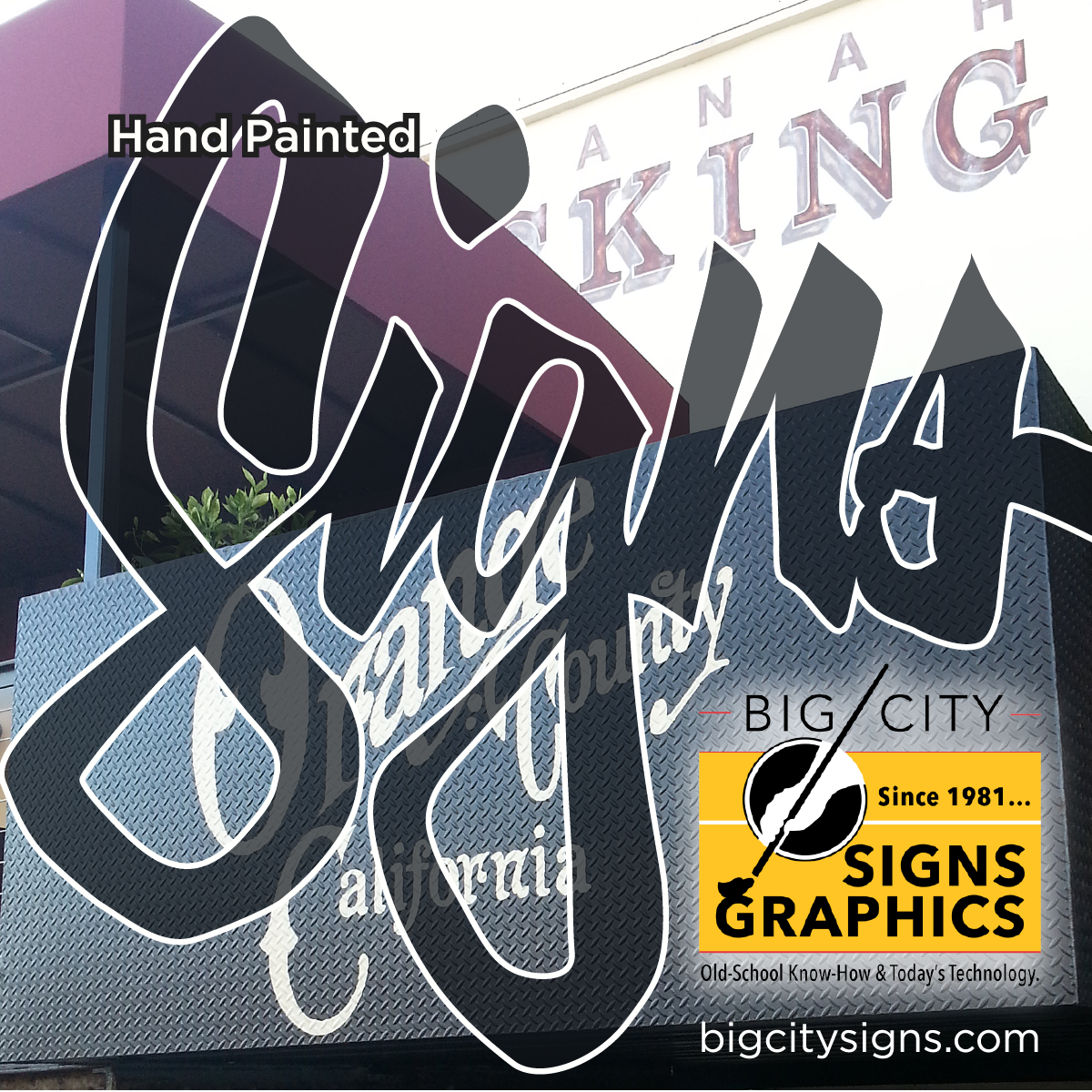 LOS ANGELES, SAN DIEGO, SOUTHERN CALIFORNIA'S SIGN PAINTER
