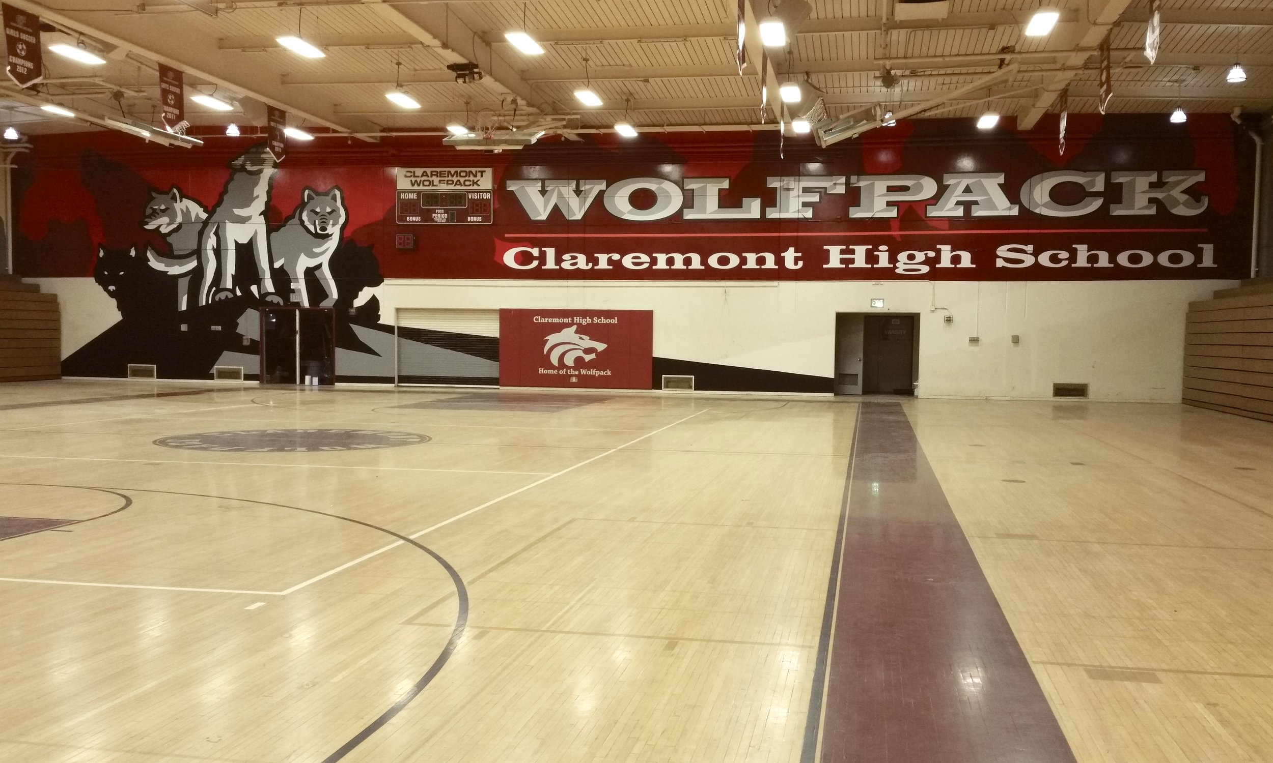 We're your GO-TO source for school spirit murals and graphics! -