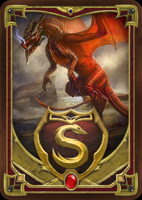 Dragon - Elder Red