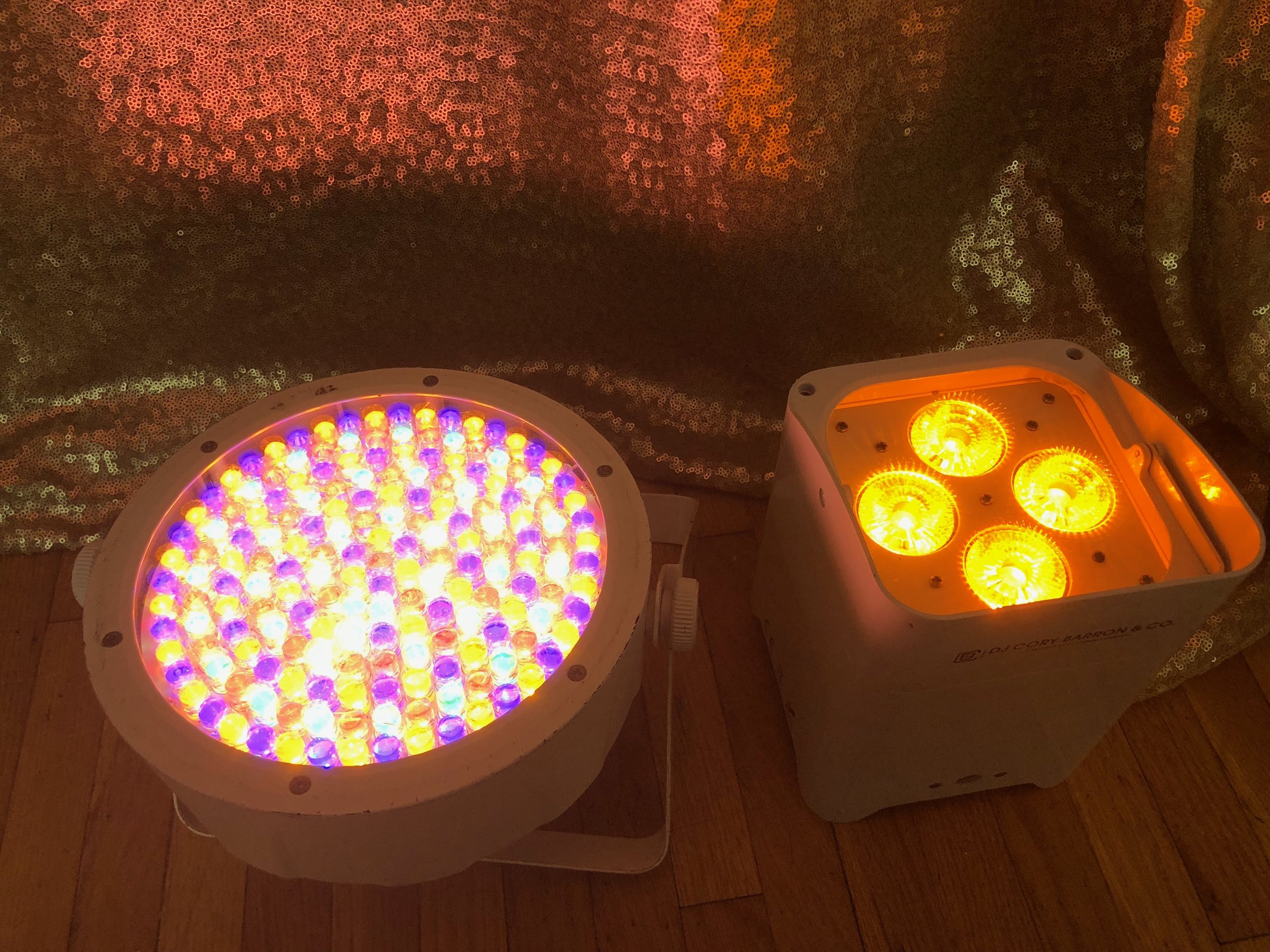True Amber (Warm Candle light) Color Lighting