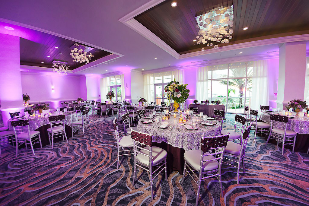 27 uplights at the haytt regency clearwater beach by barron + co. Djs