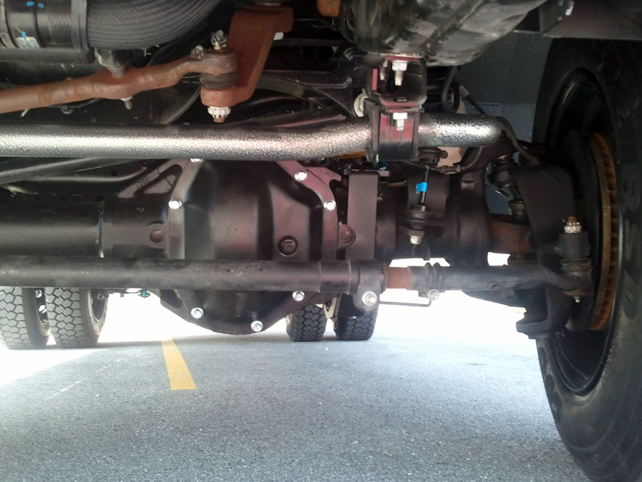 Dana 80 Front Axle Installed