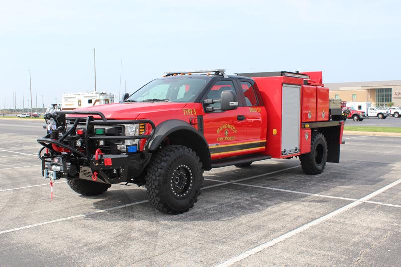 SFA Brush Truck Fire Truck DBL Design