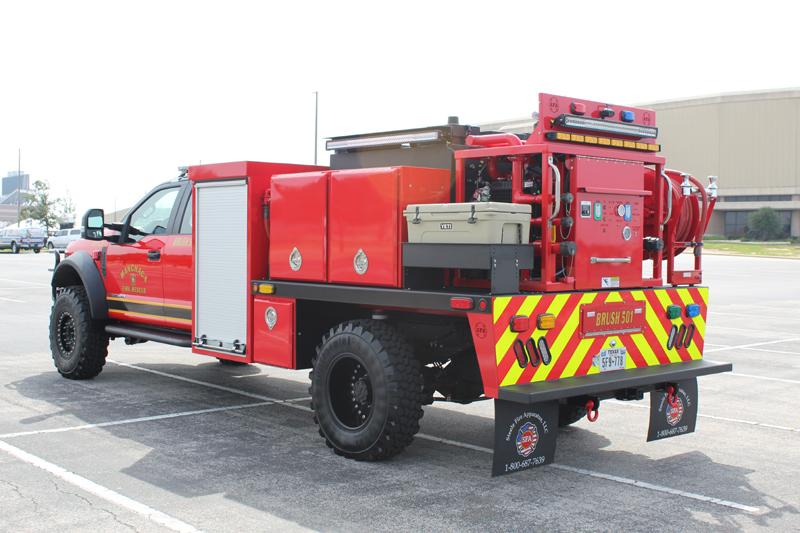 SFA Brush Truck Emergency Vehicle