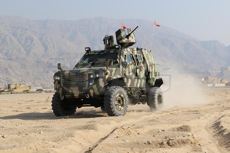 Guardian MAX LPV MRAP Military