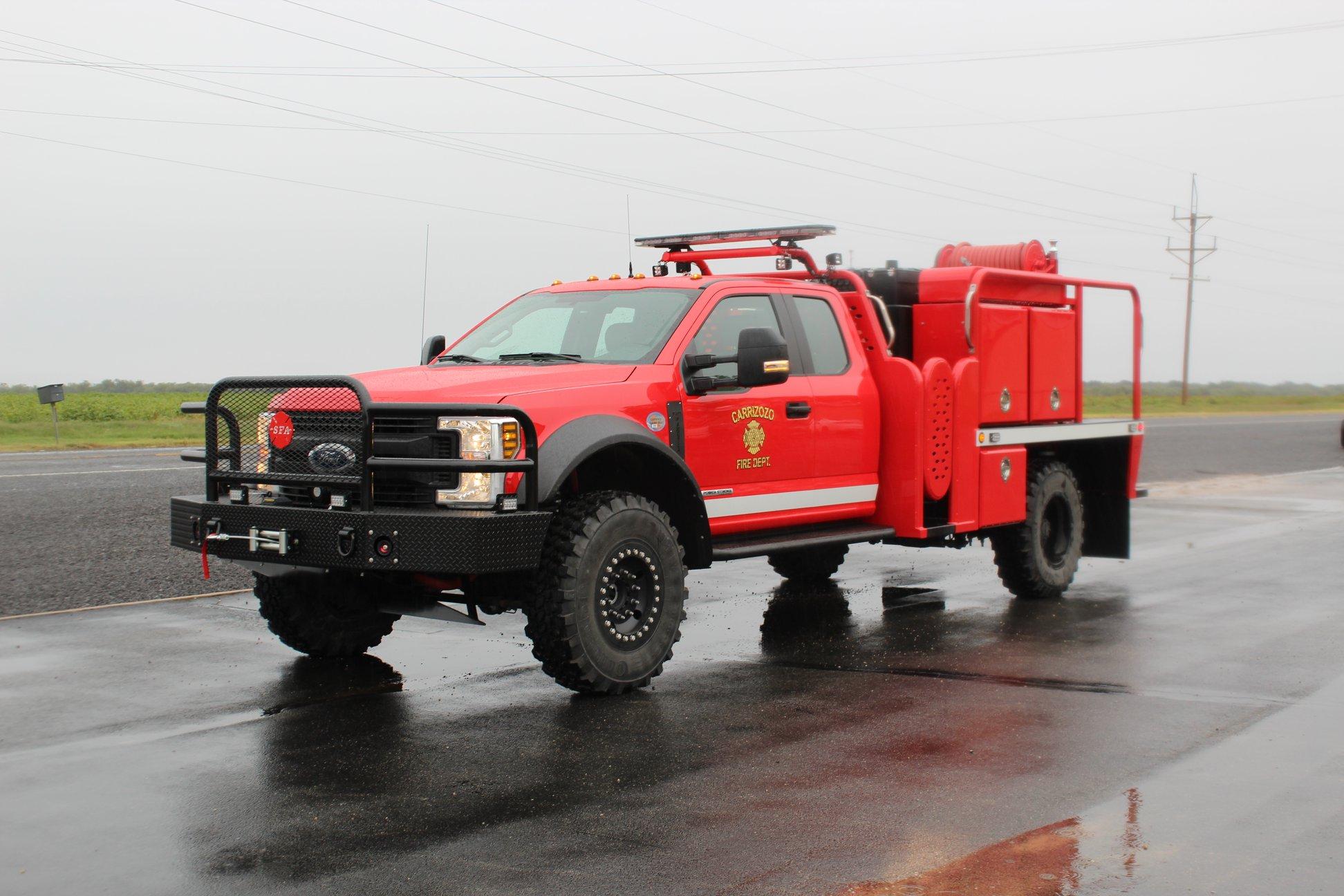Brush Truck F550 F450