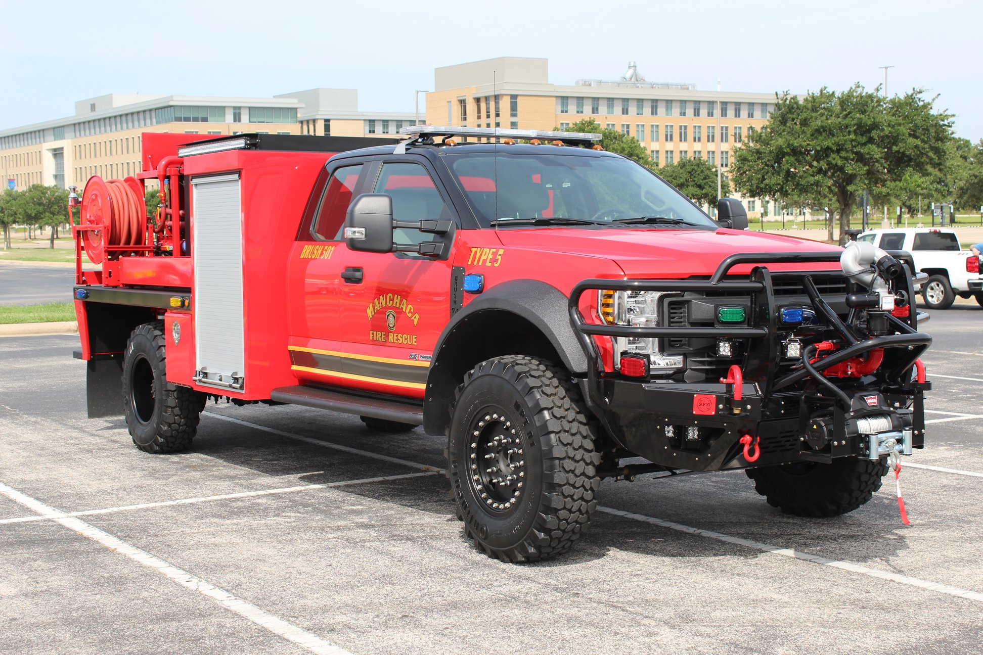 F550 Brush Trucks