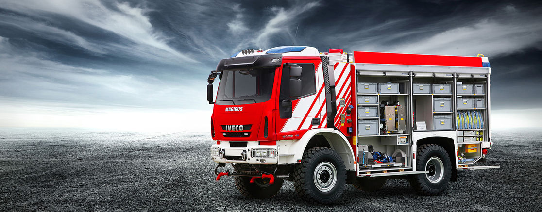 IVECO 4x4 Cab Over TLF4000 Wheels