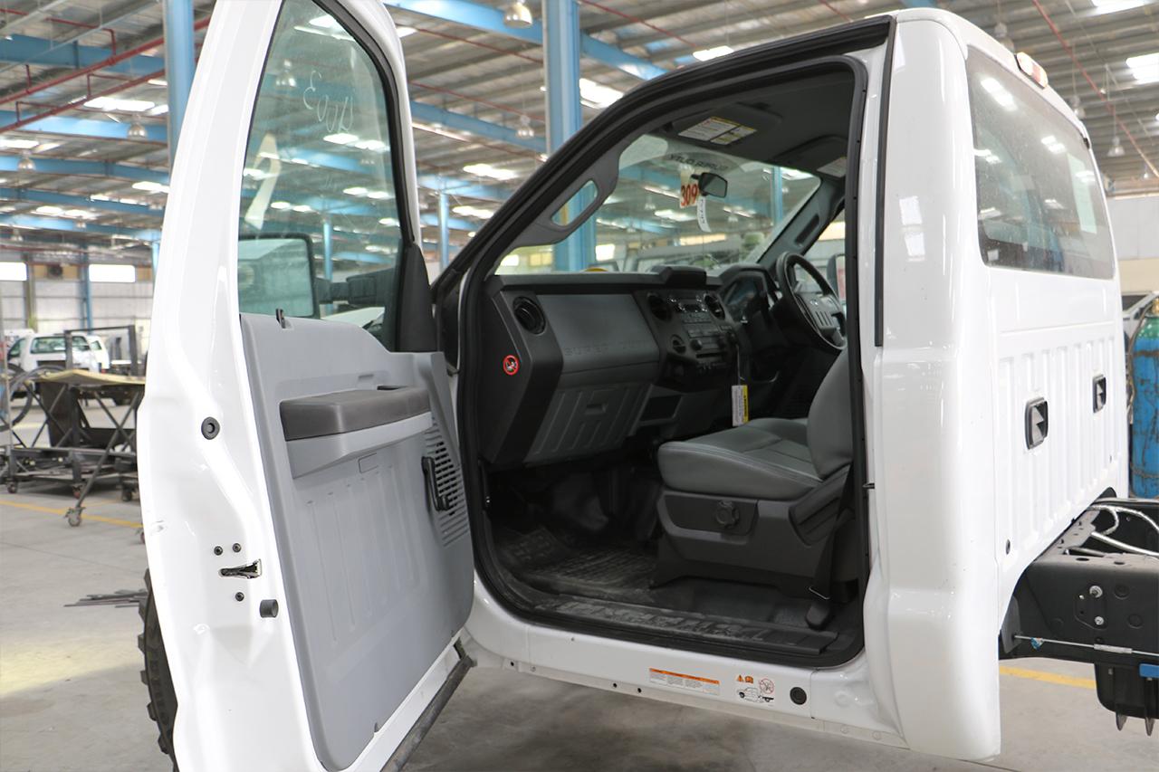 F550 RHD Conversion