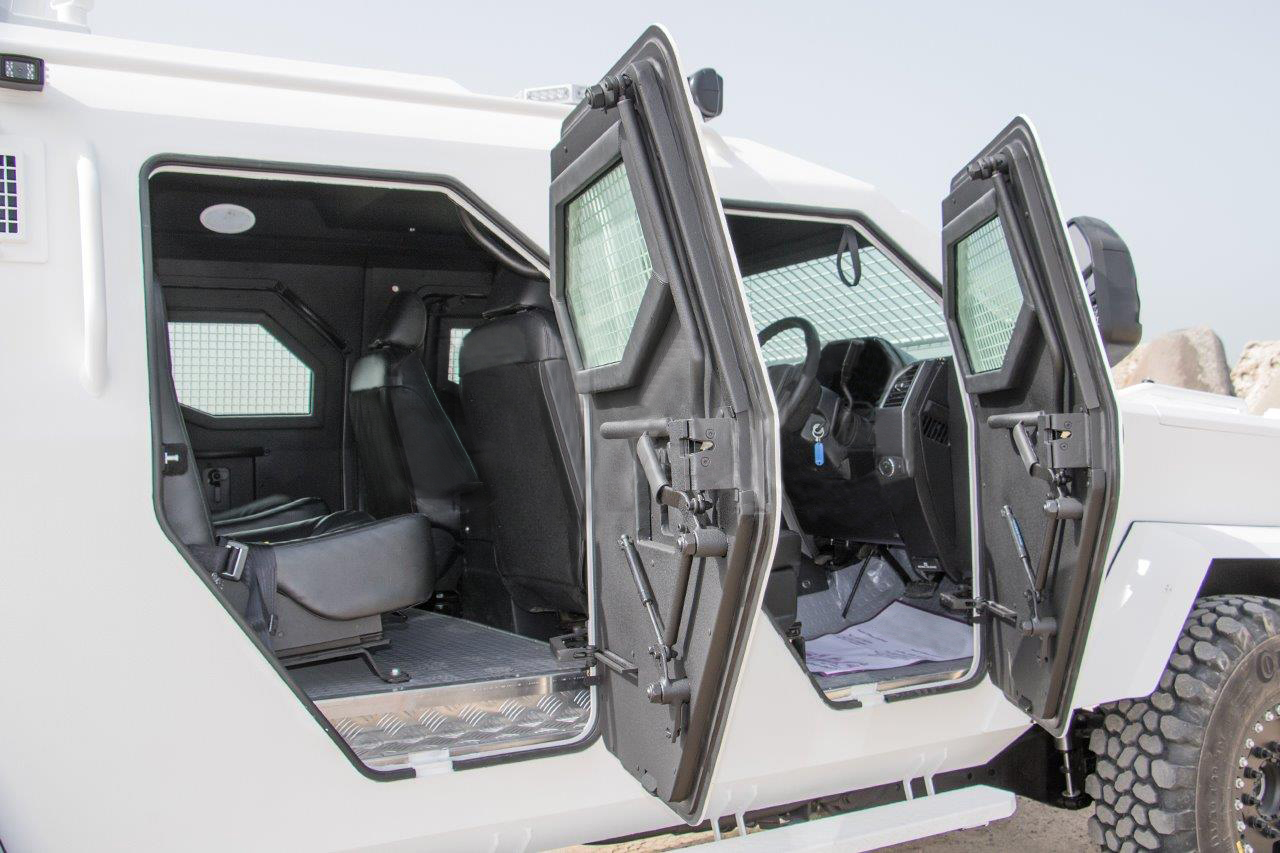 Right Hand Drive F550 Armored Vehicle
