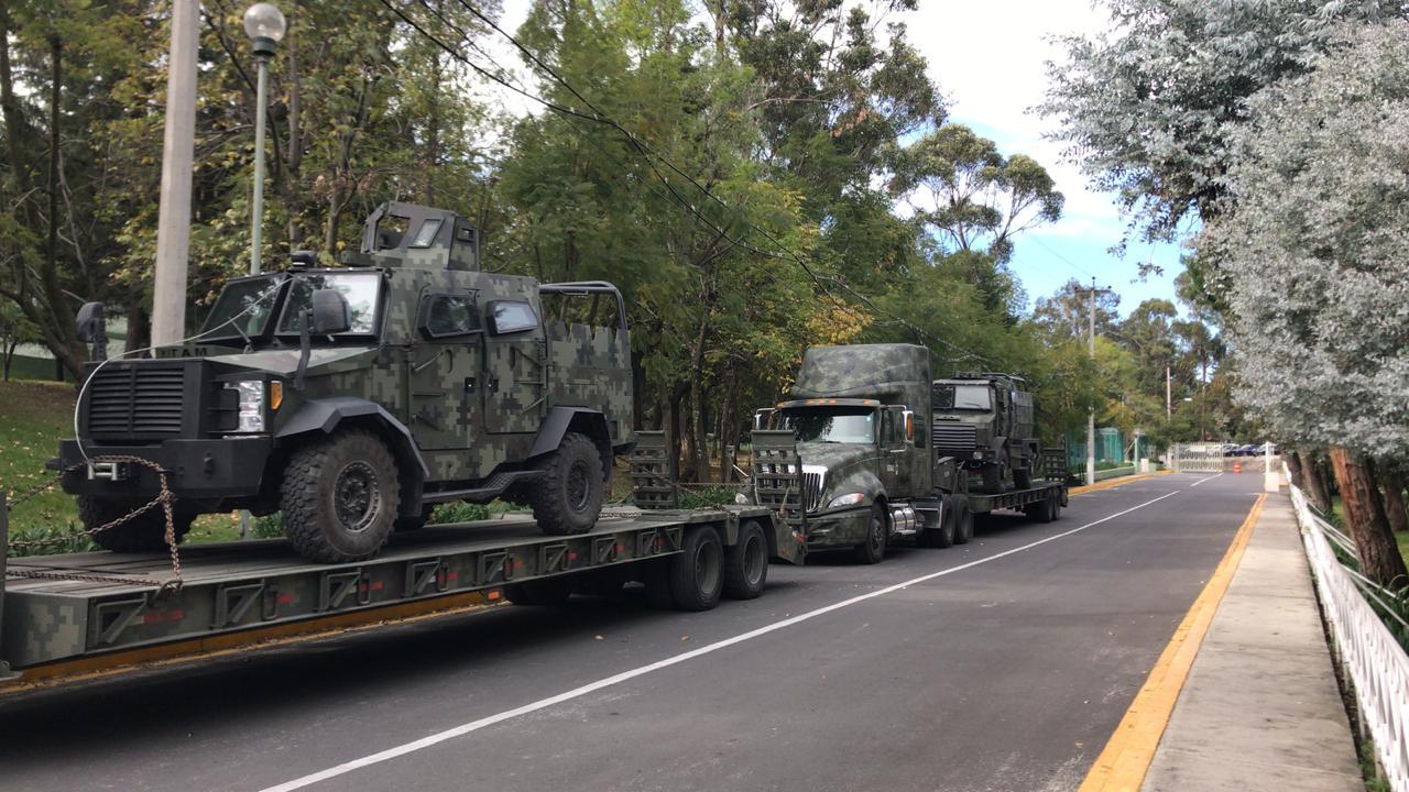 IAG military convoy