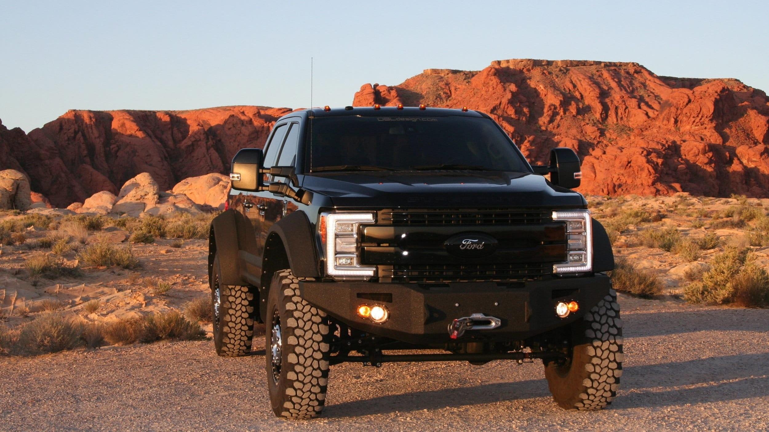F450 Black Pickup