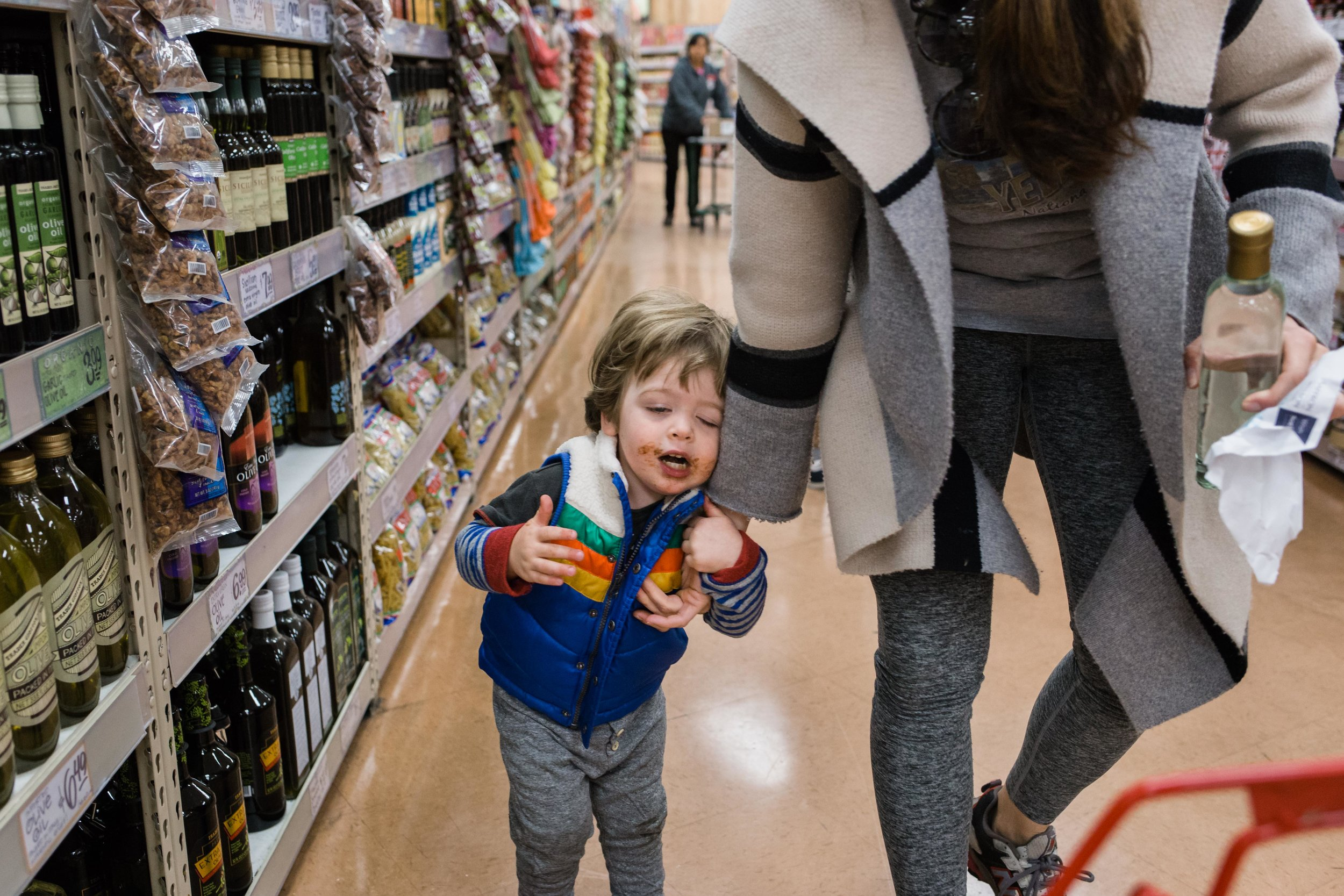 Cole at the store