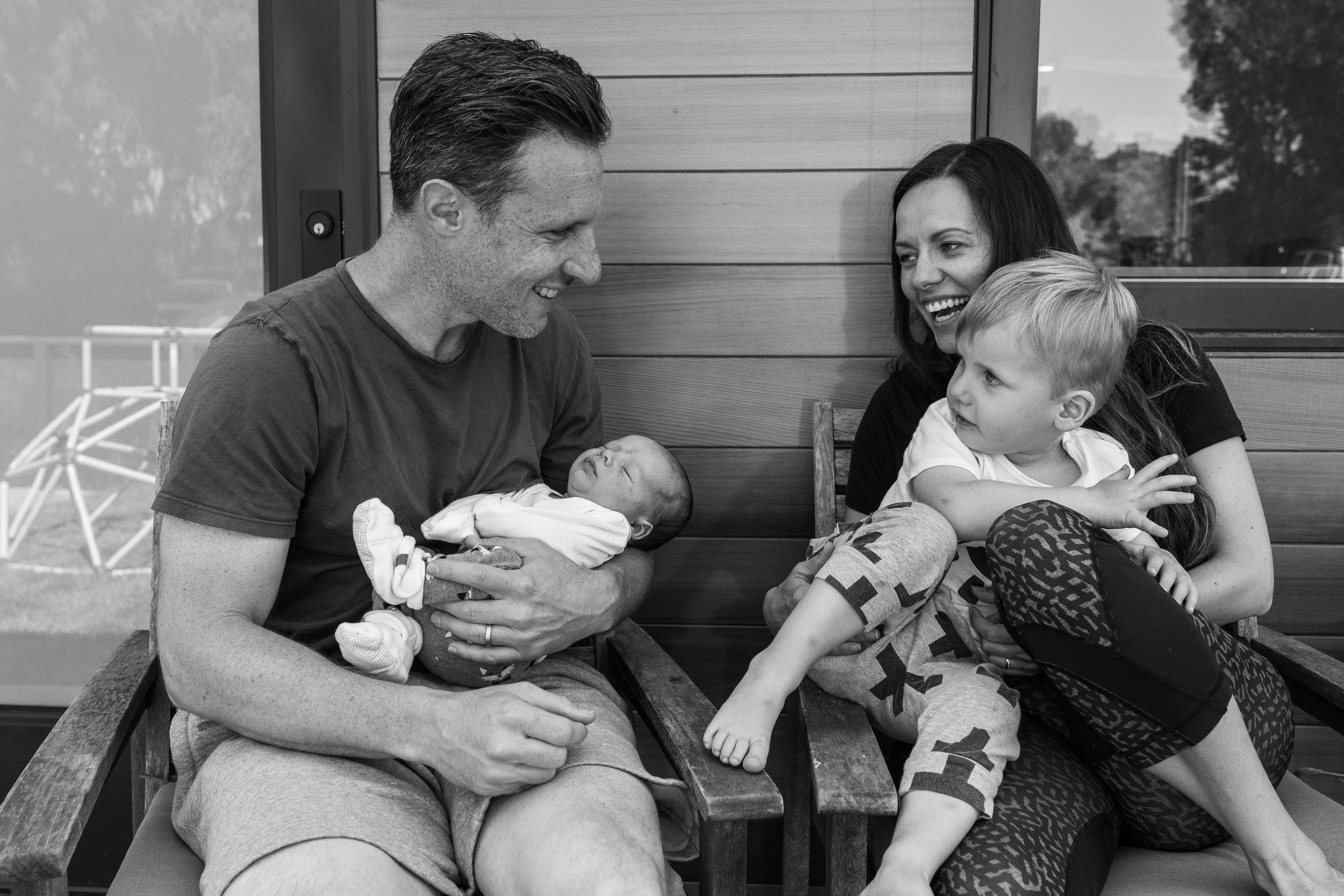 Family Story - Newborn -