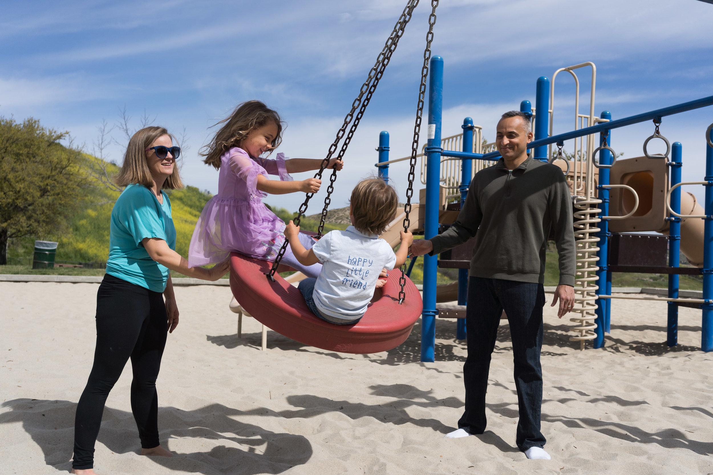 Short Family Story - Community Park -