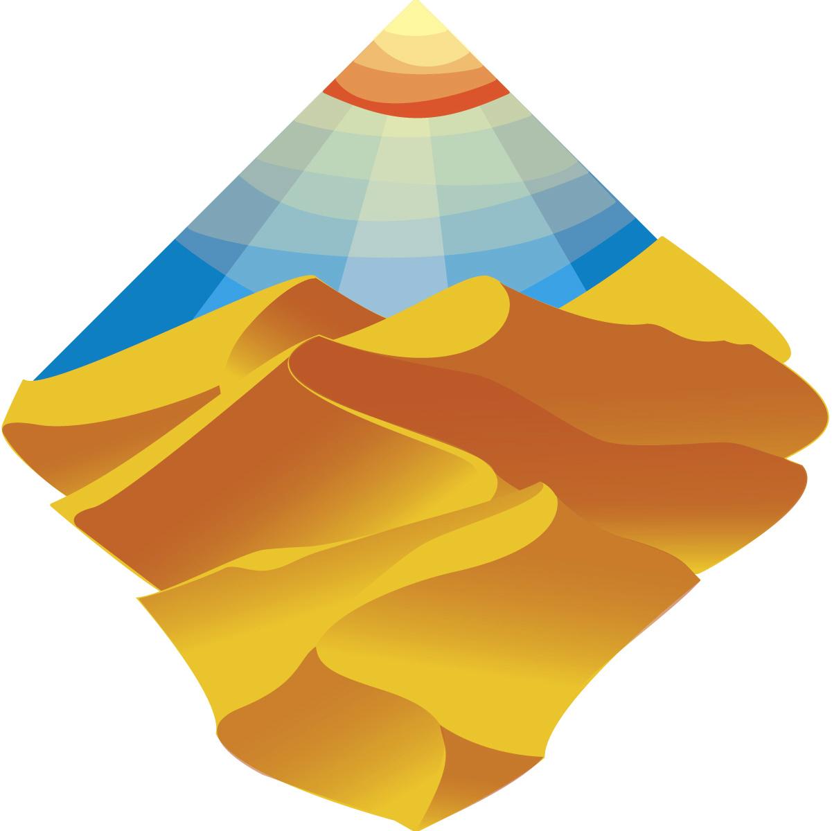 Sahara Desert Icon