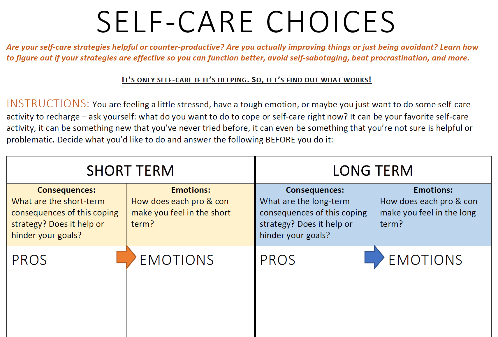 self care choices.PNG