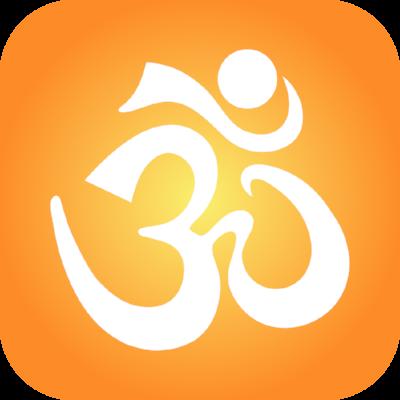 White Aum Orange Icon.png