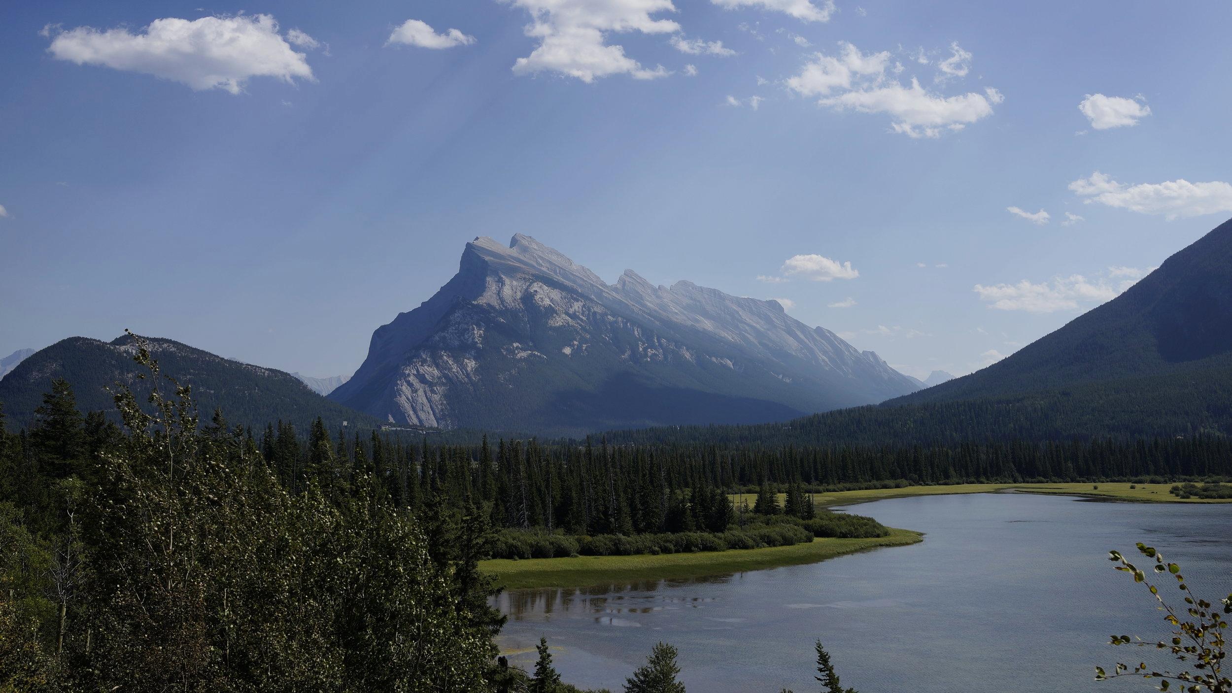 Mt. Rundle, Alberta. Canada.
