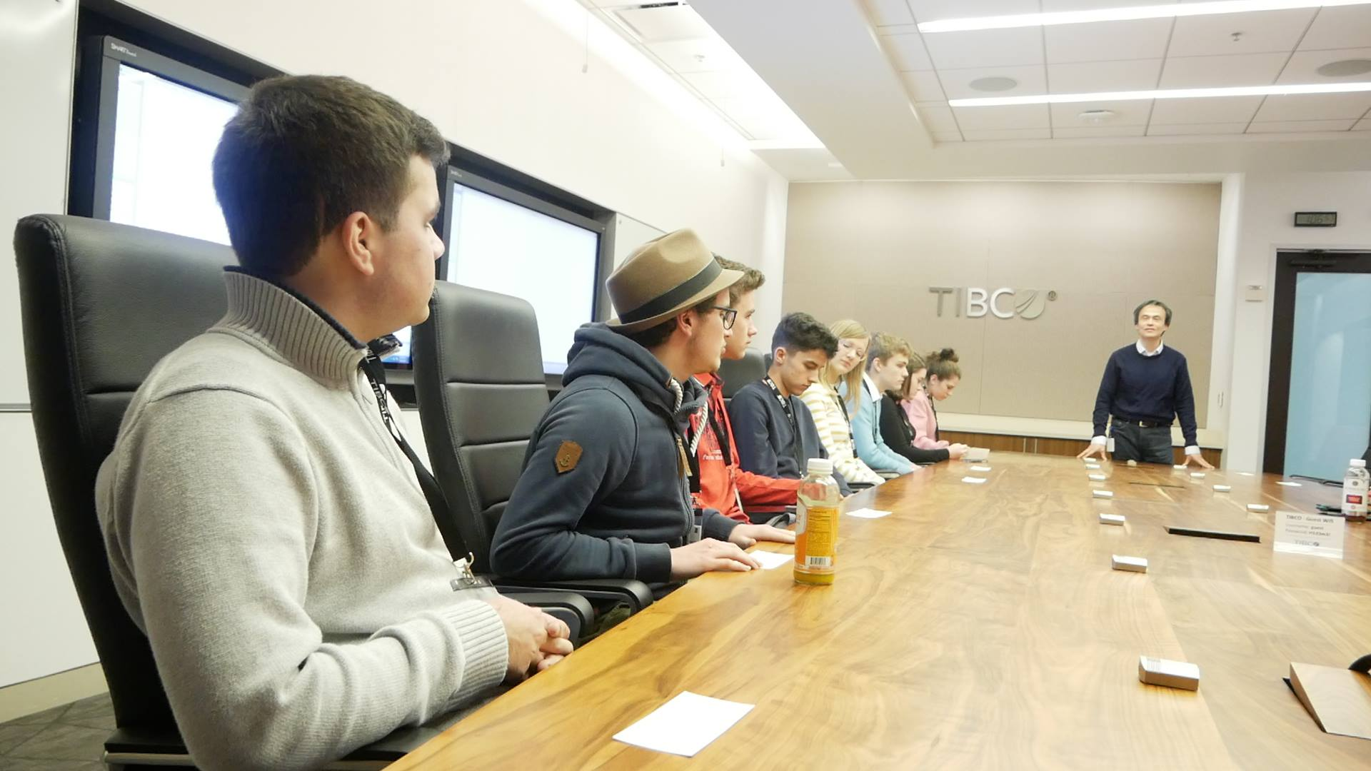 BEAM students get a tour of TIBCO