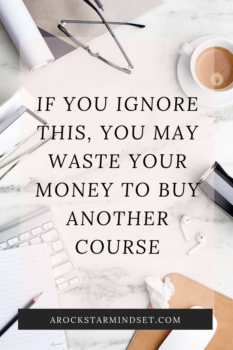 If you ignore this, you may waste your money to buy another course - August 2019.png