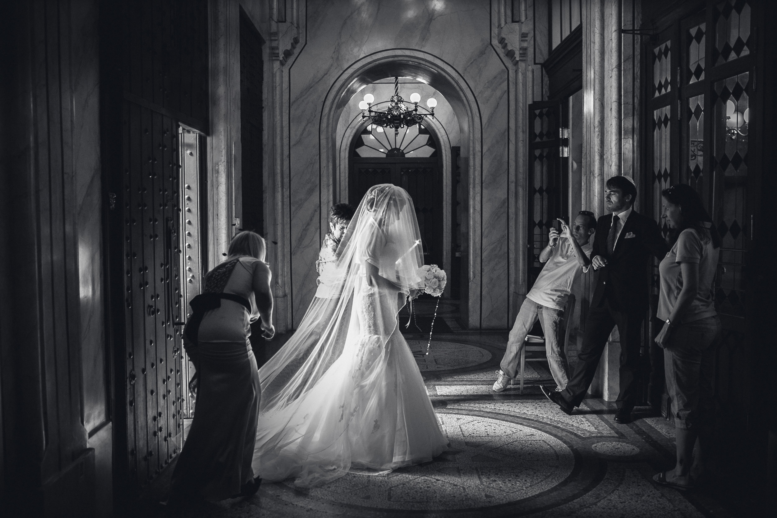 "Wedding Photographer of the Year in Hungary, 2013. ""Ceremonies""  3rd place"