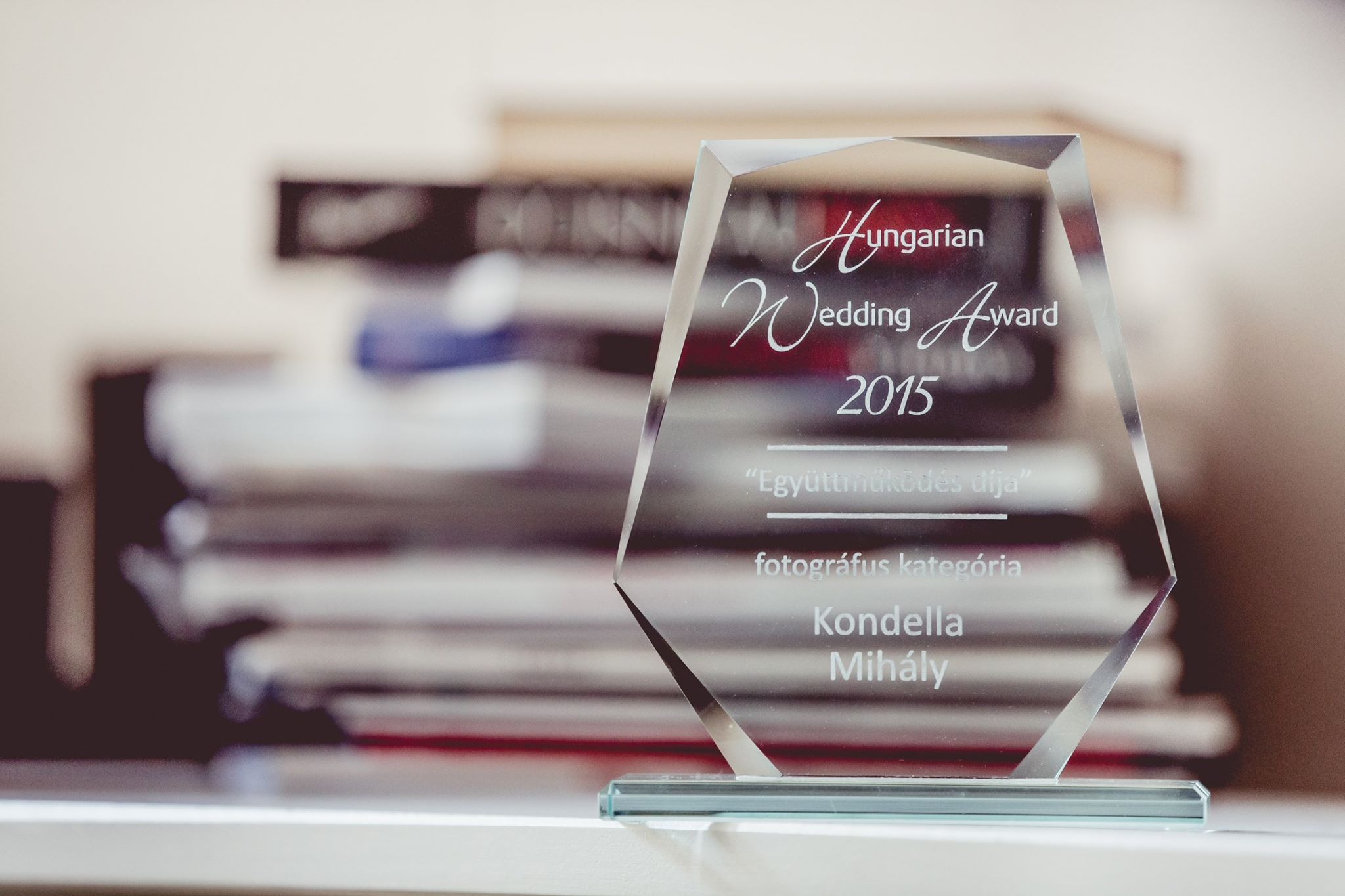 "Hungarian Wedding Award - ""Award of Cooperation"" 2015. WINNER"
