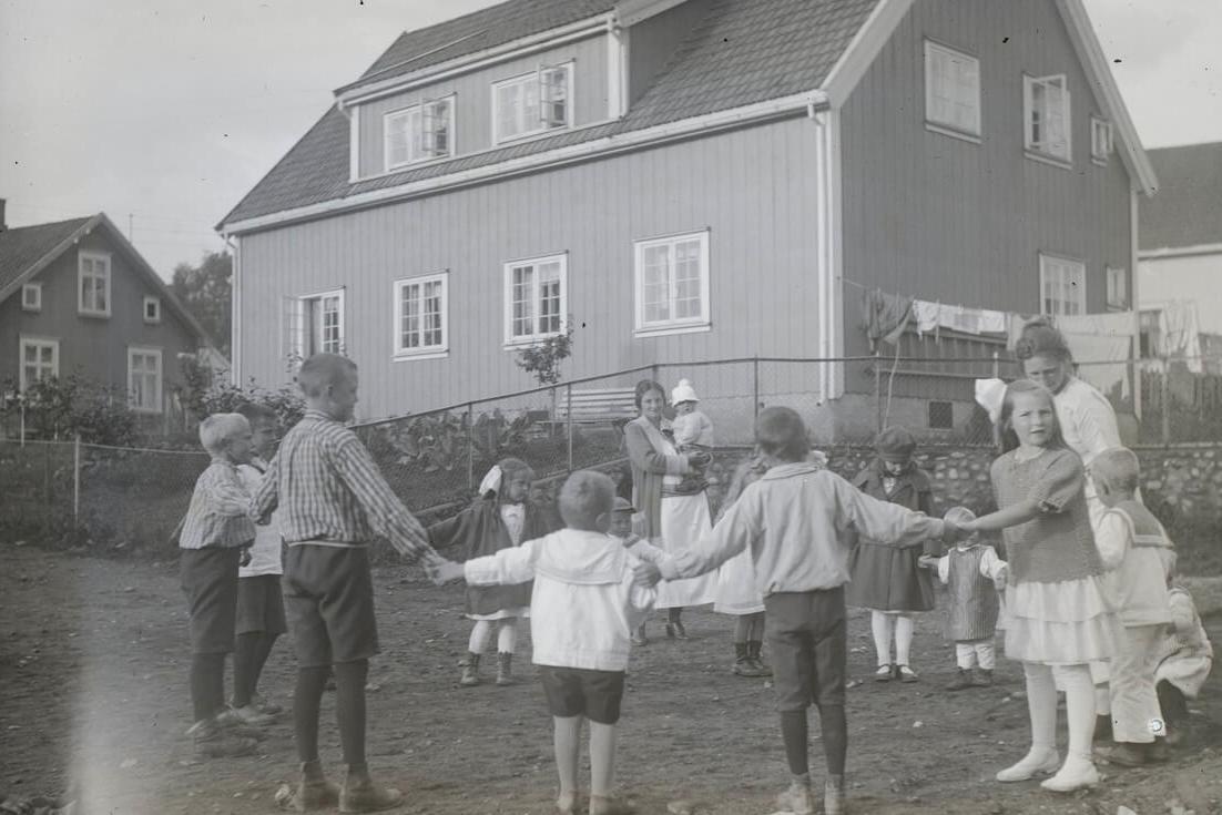 Foto: Maihaugen - Fotograf: Marius Berge 1885-1979 - Fotografering ca. 1924
