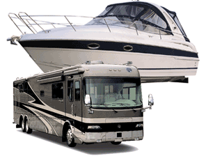 BOAT & RV DETAILING - Just like motorcycles, boats and RV's need to be approached a different way compared to cars. The protective layer on a car is called clear coat while on a boat or RV its gel coat. Gel coat is a much harder surface and takes more time and effort to restore. RV reconditioning services are only exterior, I do not detail RV interiors.