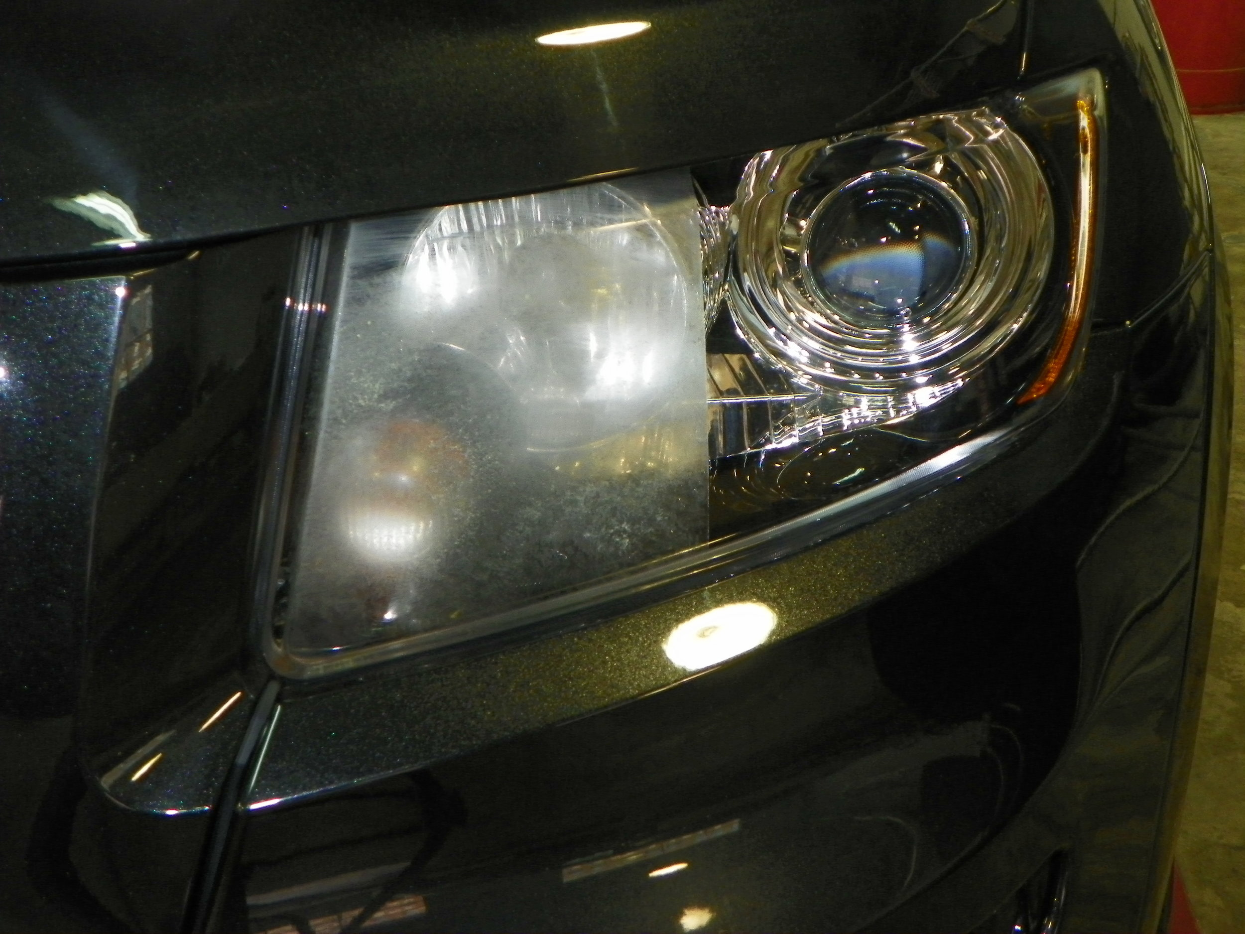- Often overlooked, faded or cloudy headlights can be corrected fairly quickly. The difference in light output will amaze you so much you'll wonder why you didn't have your headlights restored sooner.