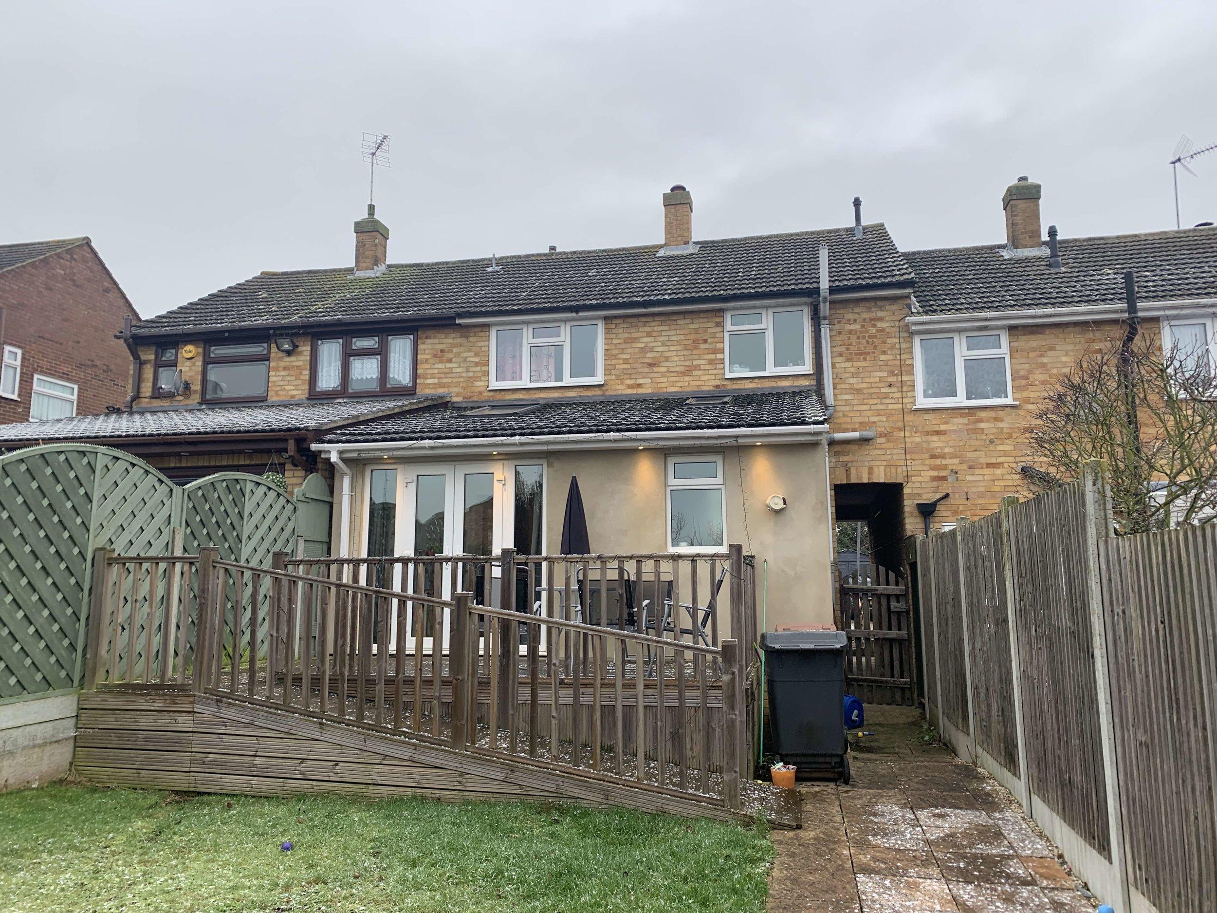 Chelmsford house rear