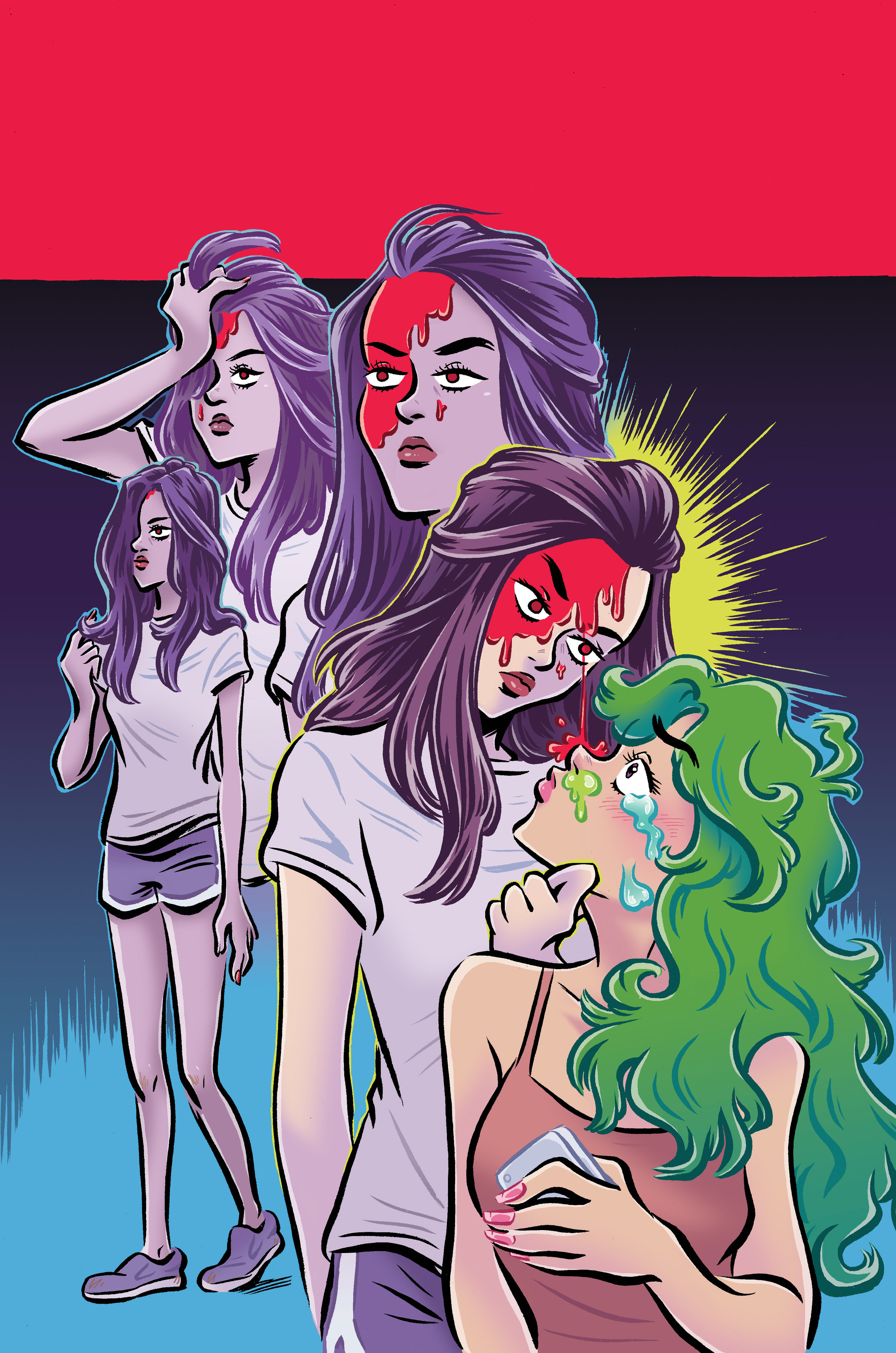 Cover illustration for Snotgirl by Leslie Hung and Bryan Lee O'malley