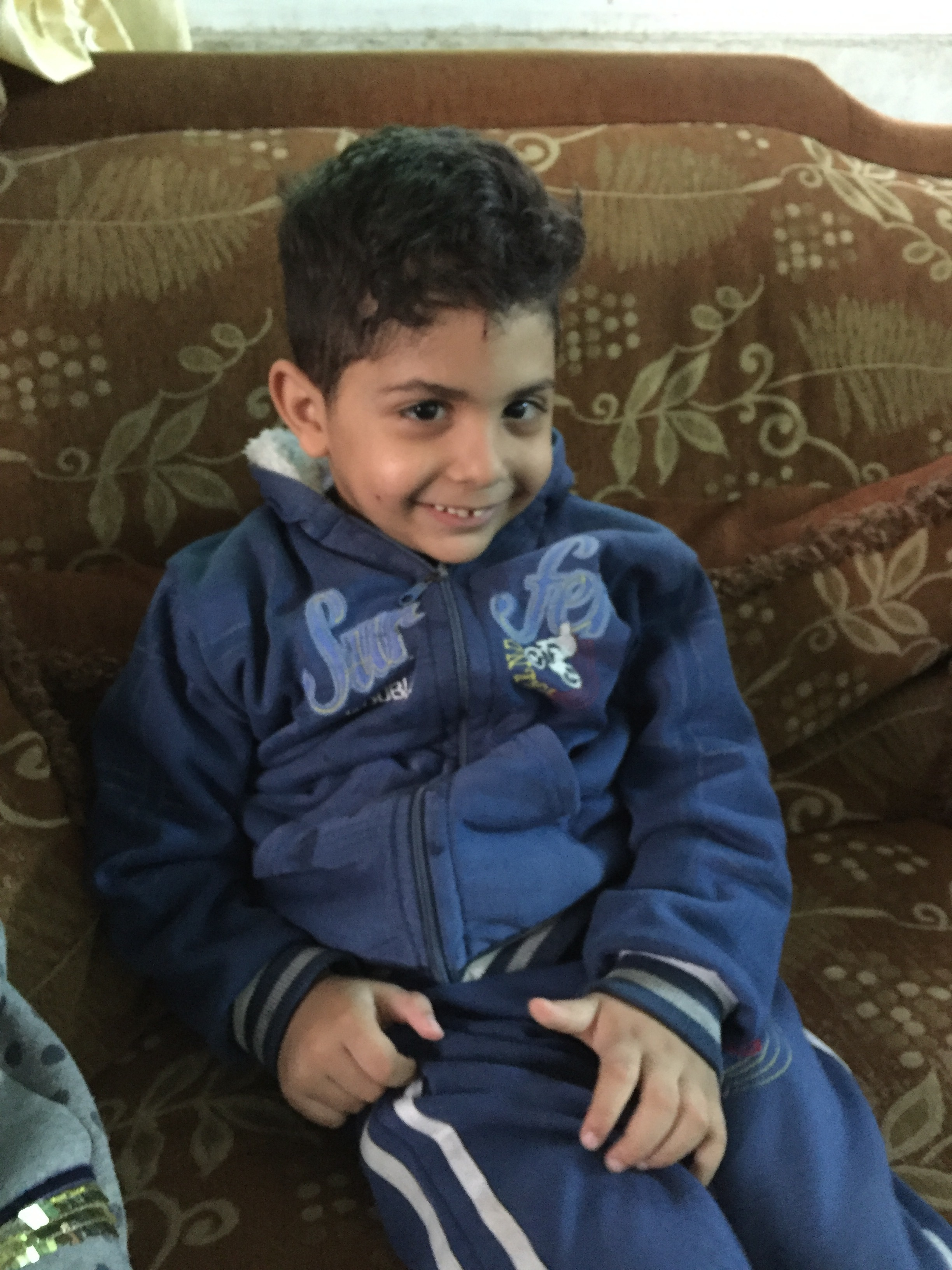 The dreams of a child - To go to school like everyone else is what Zeid and so many other children wish for