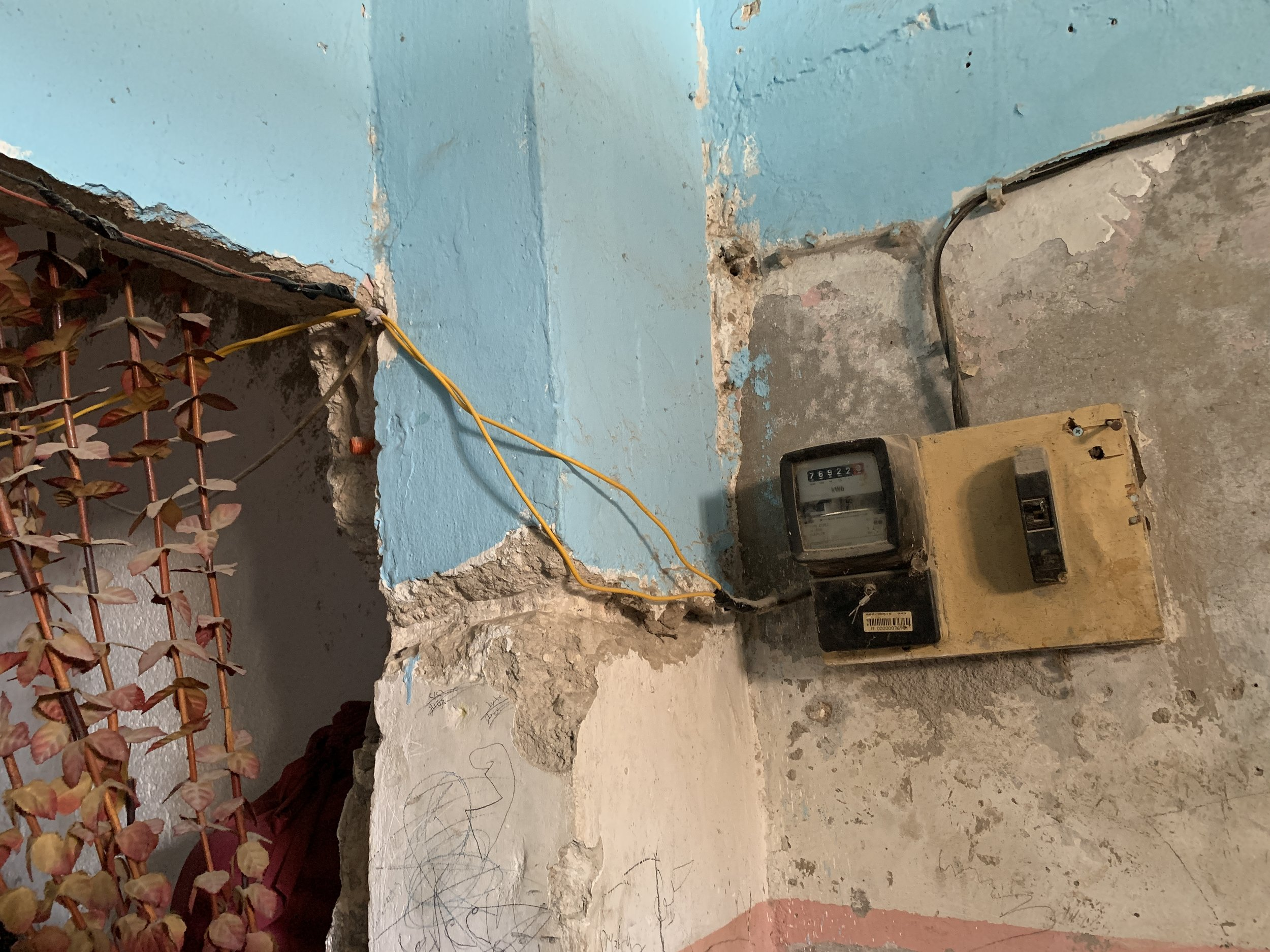 Let there be light! - Helping families by repairing their homes