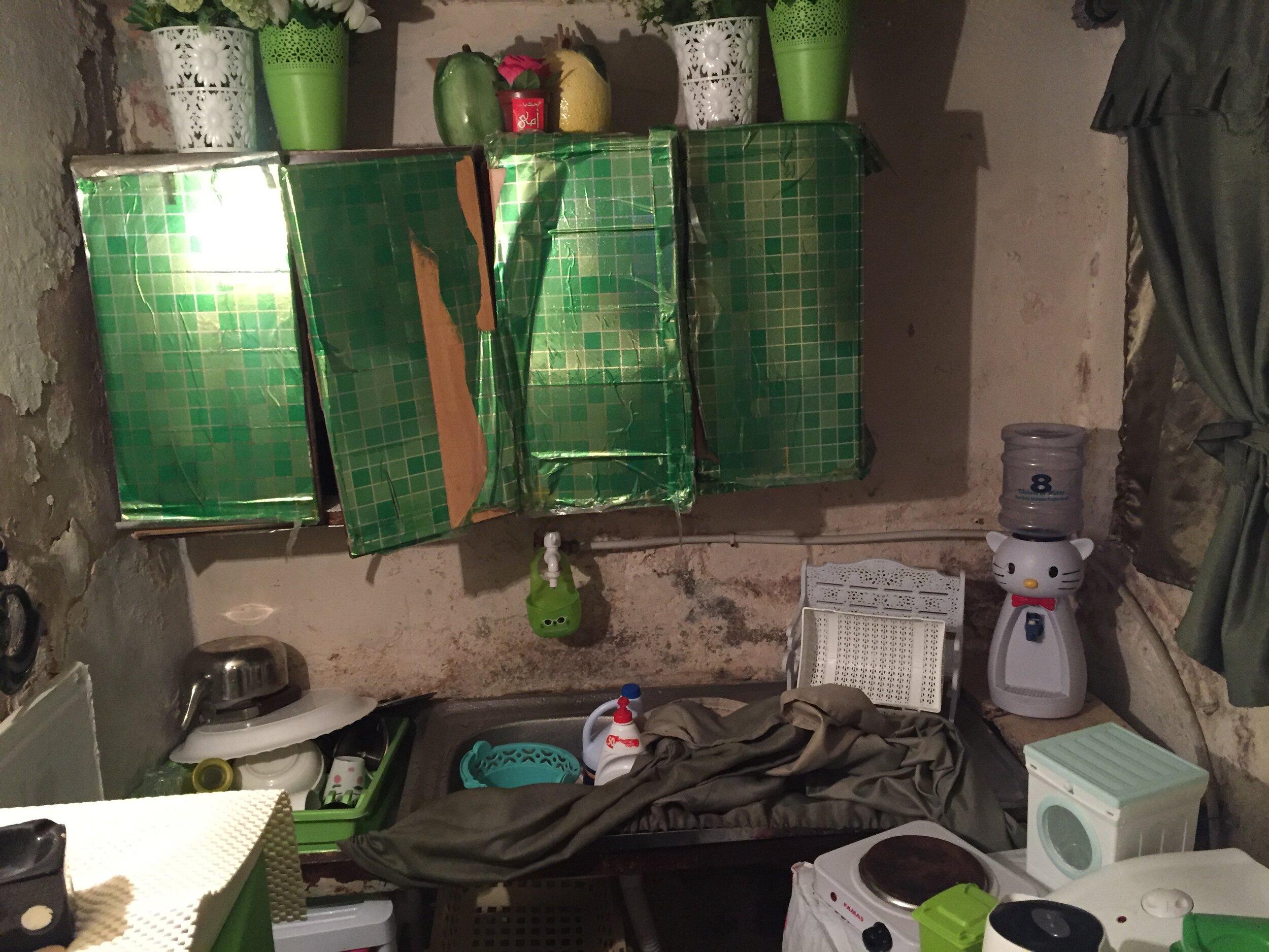 Before - Kitchen falling apart