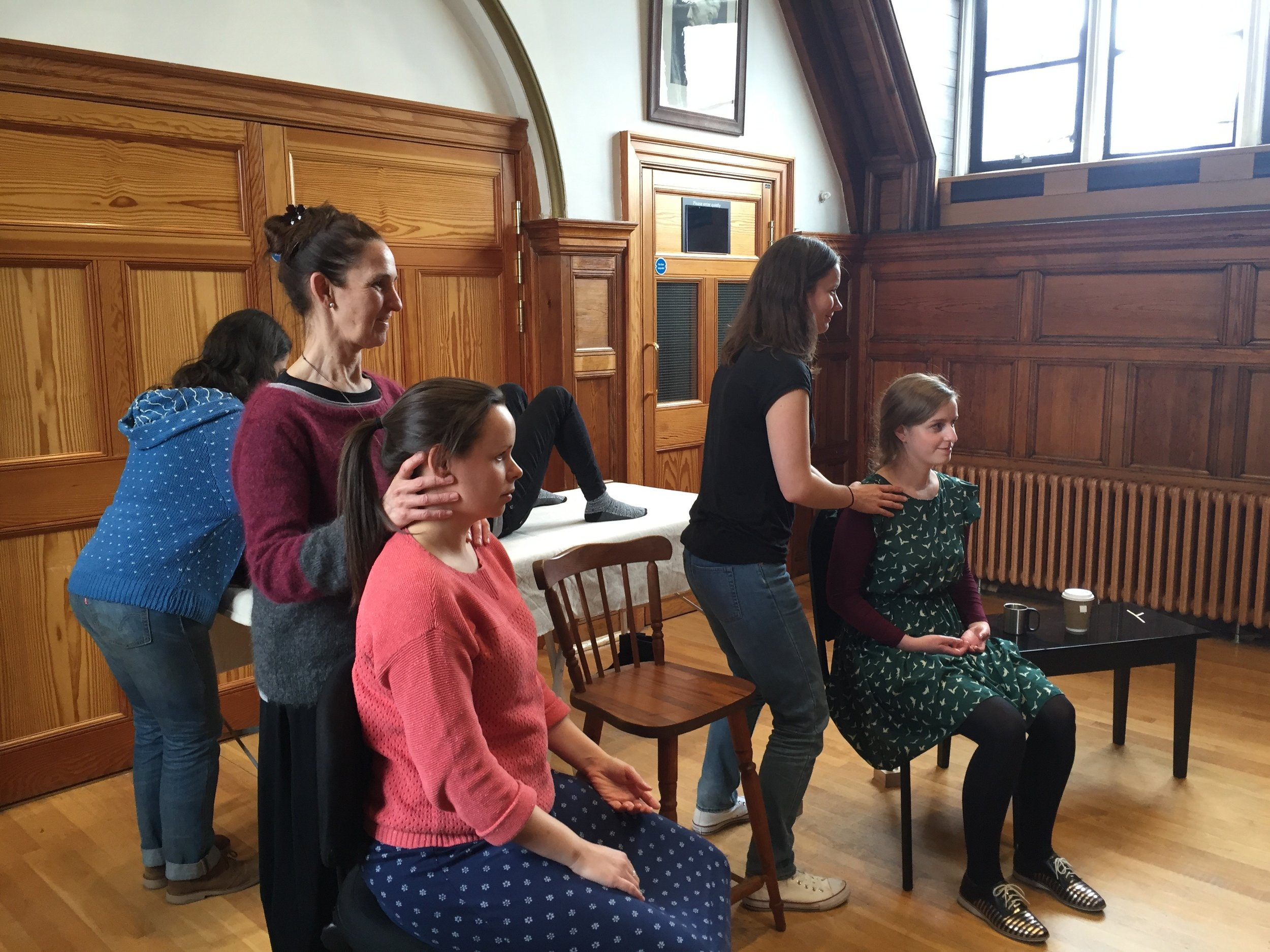 'Hands on' work at the RCM