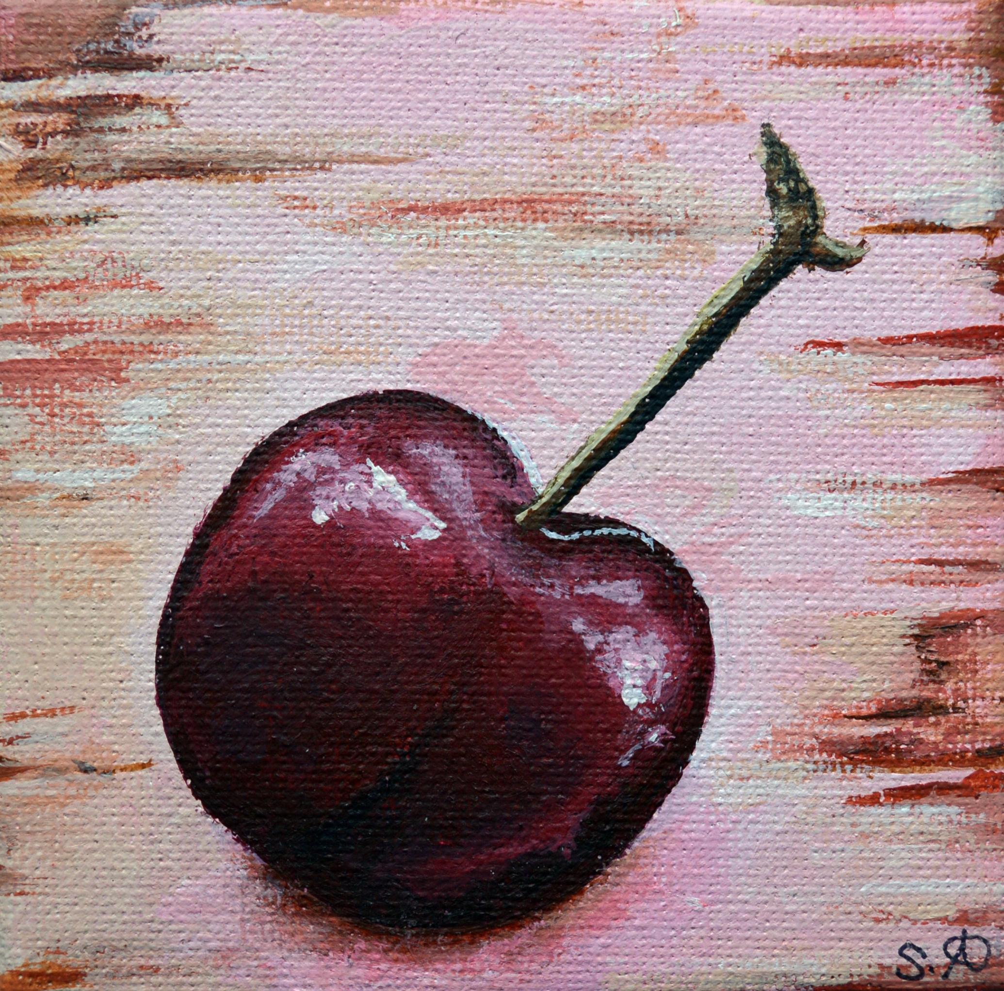 Summer Fruits: Pink Cherry