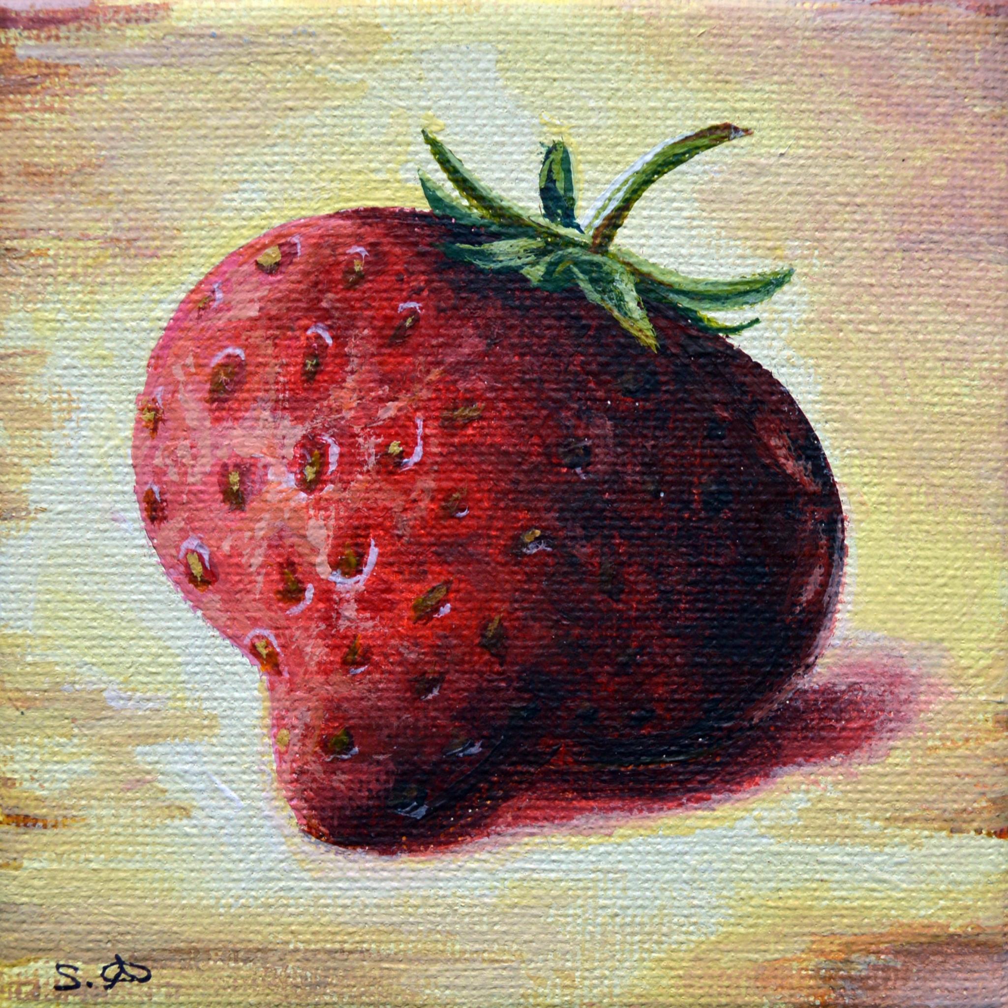 Summer Fruits: Yellow Strawberry