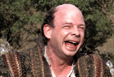 Wallace Shawn as Vizzini ( The Princess Bride , 1987)
