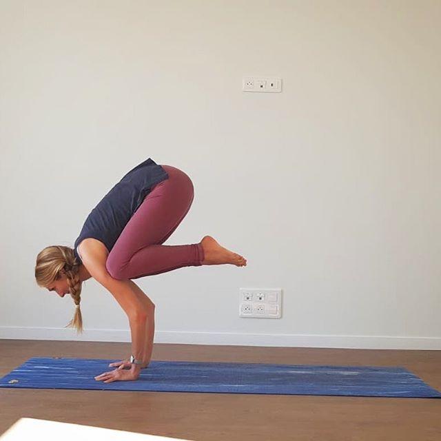Hey Bakasana  Long time no see ! Après des mois de pratique plus Yin et intérieure durant la grossesse, je reviens depuis quelques semaines à une pratique plus Yang et ma perception des asanas est complètement différente de celle que j'avais encore il y a quelques mois. 🧭 J'y trouve de nouvelles ouvertures pour enseigner et de nouvelles perspectives dans les postures les plus simples. Le corps a changé mais plus encore c'est le mental qui s'est modifié au fil de ces 9 mois ✨ Ma pratique du yoga se révèle sous un jour complètement nouveau. Je crois que c'est ça qui m'a rendu «accro» au yoga dès les premiers jours il y a 6 ans maintenant: la pratique est aussi infinie que notre évolution psychique, émotionnelle. Si on est suffisamment attentif, le dialogue entre cet espace sur le tapis, le corps, l'esprit n'est jamais deux fois le même. Je me rends compte que les explorations sur le tapis sont infiniment moins liées au conditionnement physique qu'à la liberté que nous offre notre esprit. Tout est possible : le yoga comme une métaphore de la vie elle même. • • Alors bonjour Bakasana, merci à ces changements de la vie qui m'ont permis de trouver plus de concentration, de confiance et de force. • • Ce que j'avais envie de vous partager avec cette pérégrination, c'est que plus que jamais j'ai envie de vous transmettre un yoga qui va mettre en lumière les facettes de votre personnalité ou de votre vie que vous soupçonniez pas. Partez à la découverte, sans idée préconçue : vous êtes peut être une autre personne que celle par laquelle vous vous définissez socialement. Étonnez-vous, votre chemin en yoga n'en sera que plus libre et passionnant. • • Belle fin de semaine les yogis ! • • #escaleyoga #inspire #expire  #explore #changeperspective #yinyasa #bakasana #doitwithlove❤️ #yogaeverydamnday #findwhatfeelsgood #yogimama #gratitude #yogabrest #ilovemycitybrest #infinitepossibilities