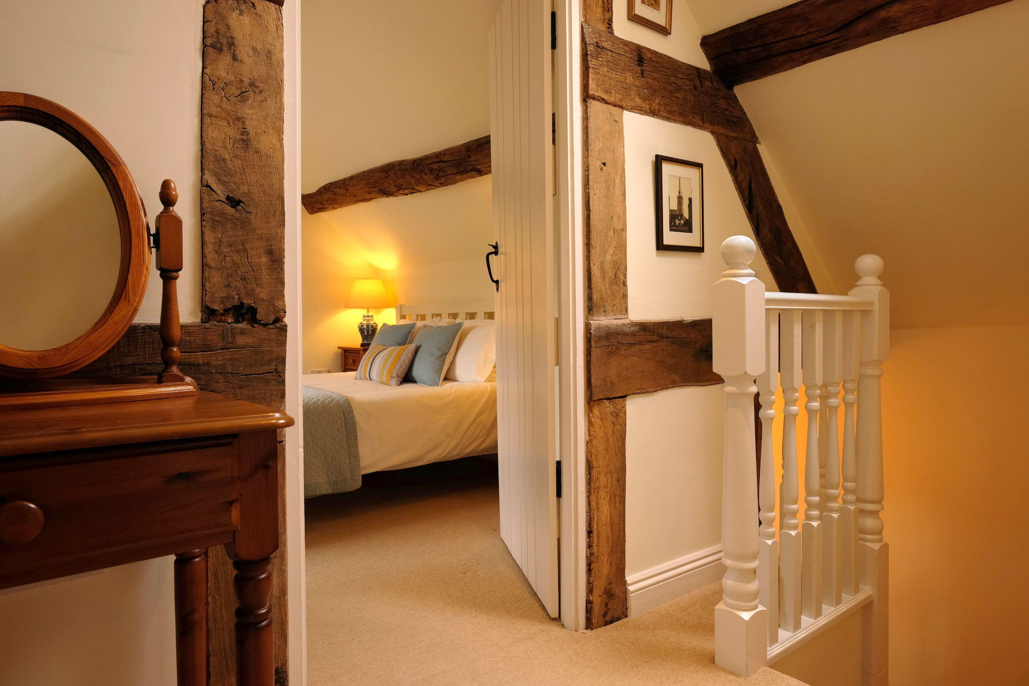 Characterful exposed beams