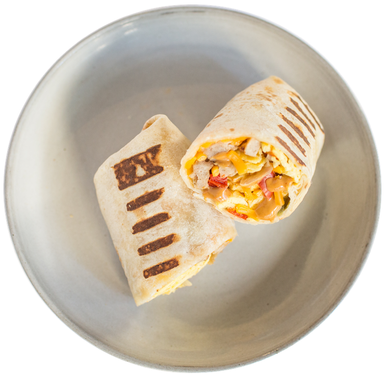 Create Your Own Breakfast Burrito