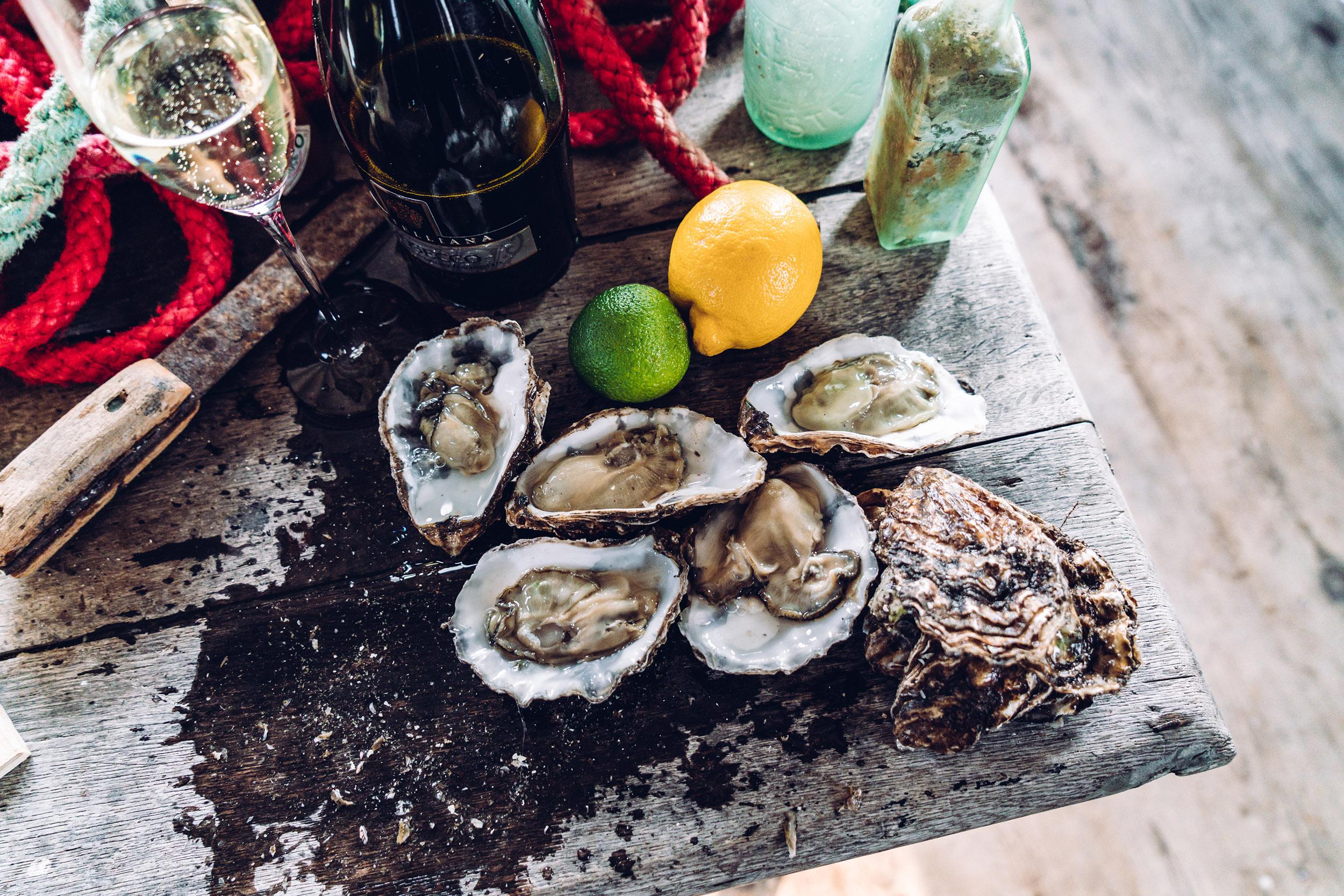 Richard Haward's Oysters   Mersea