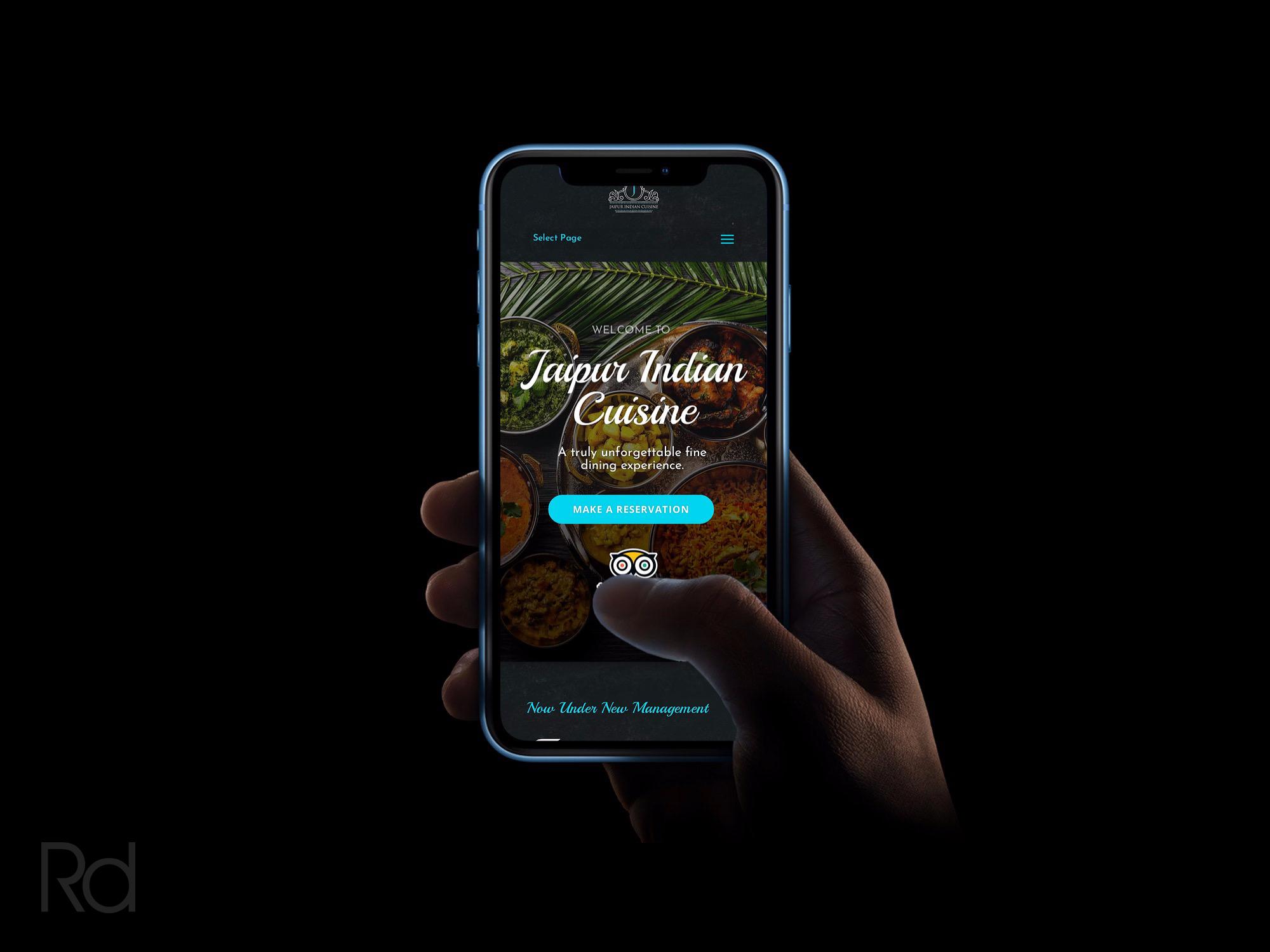 Jaipur Restaurant Mobile Site